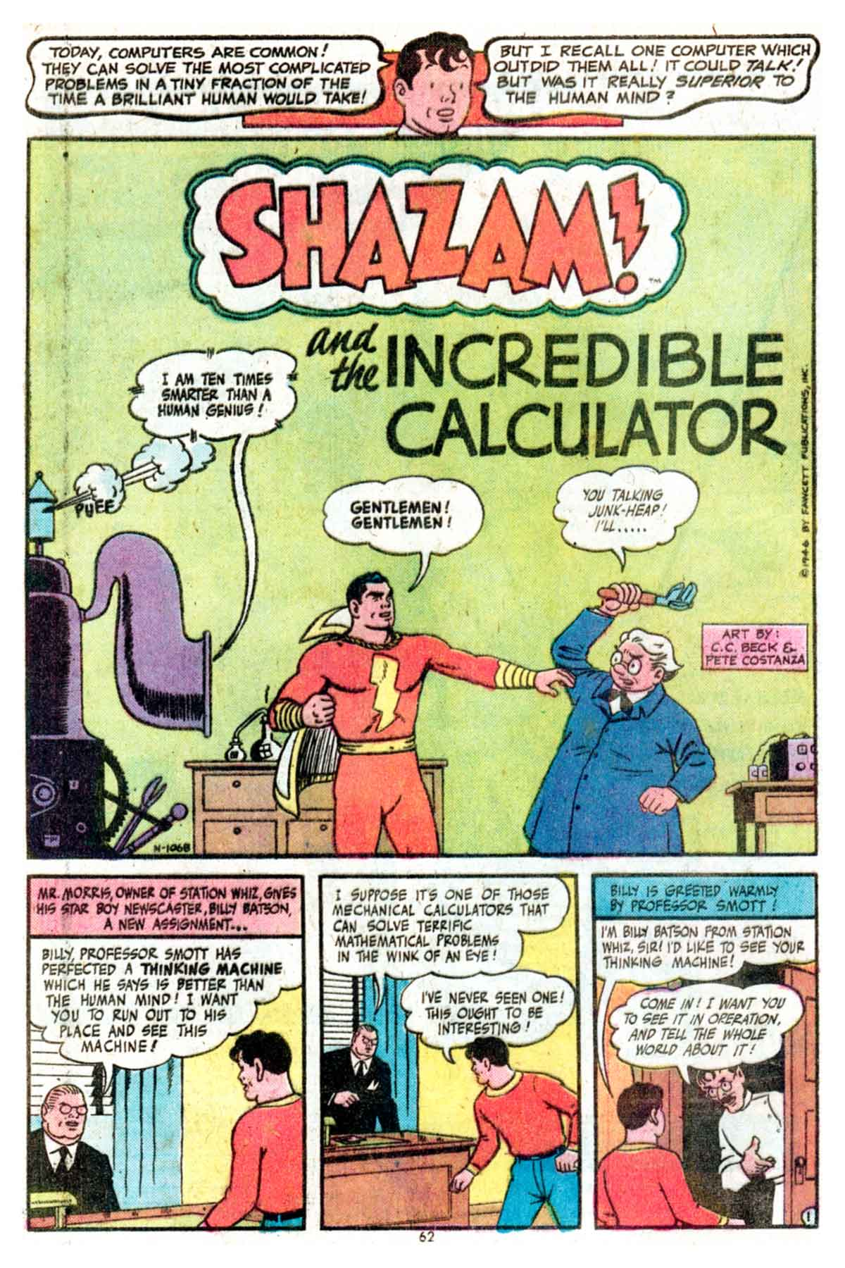 Read online Shazam! (1973) comic -  Issue #15 - 62