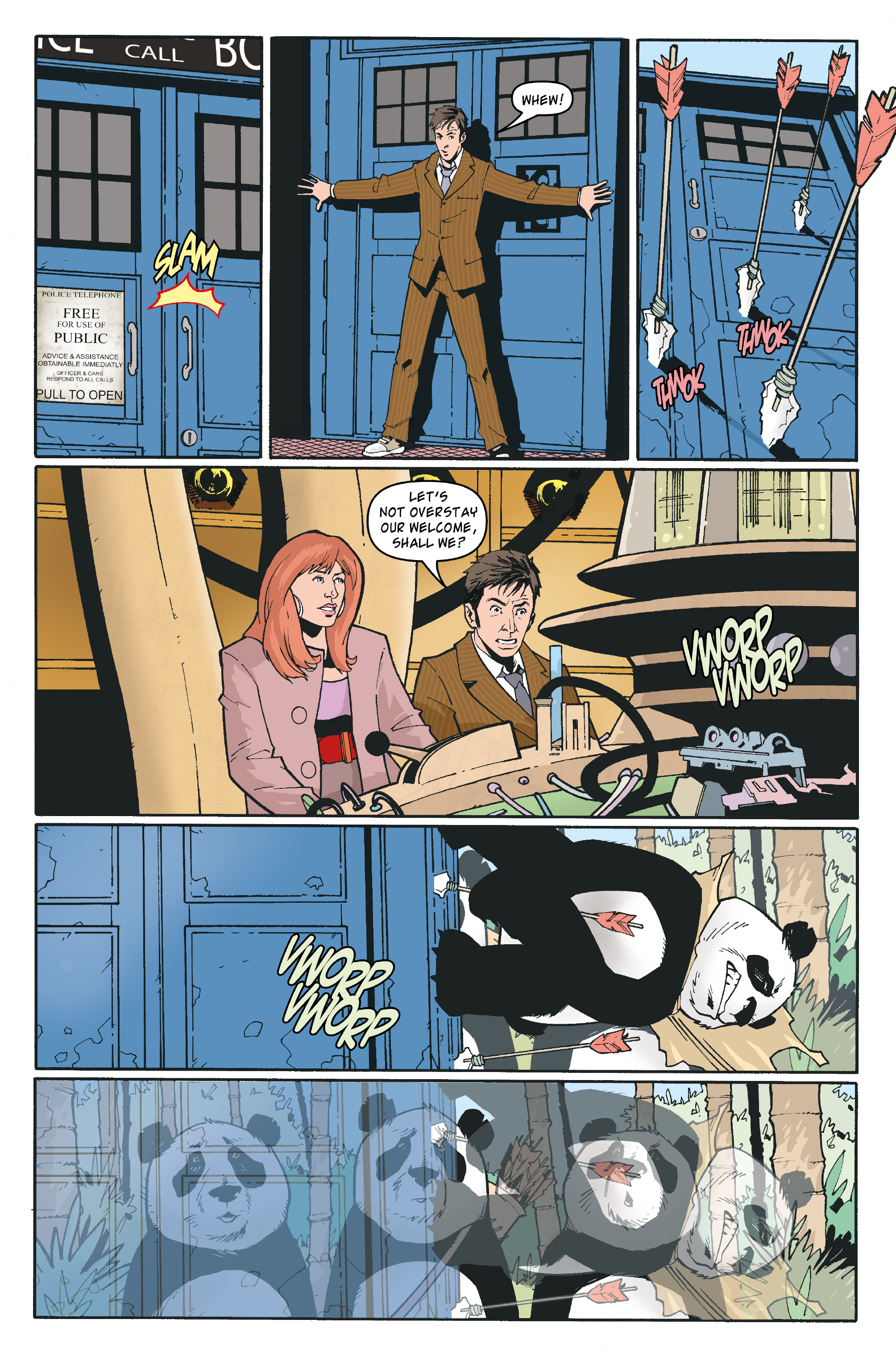 Read online Doctor Who: The Tenth Doctor Archives comic -  Issue #35 - 13
