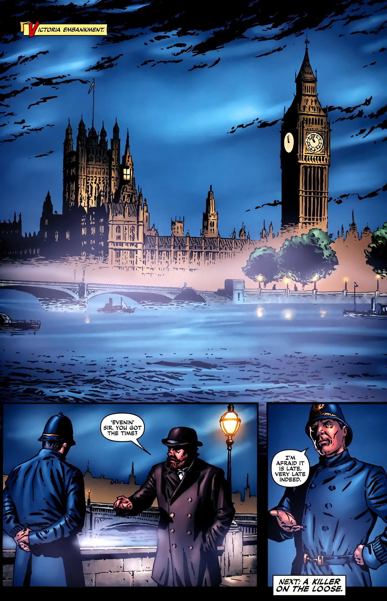 Read online Sherlock Holmes (2009) comic -  Issue #2 - 24