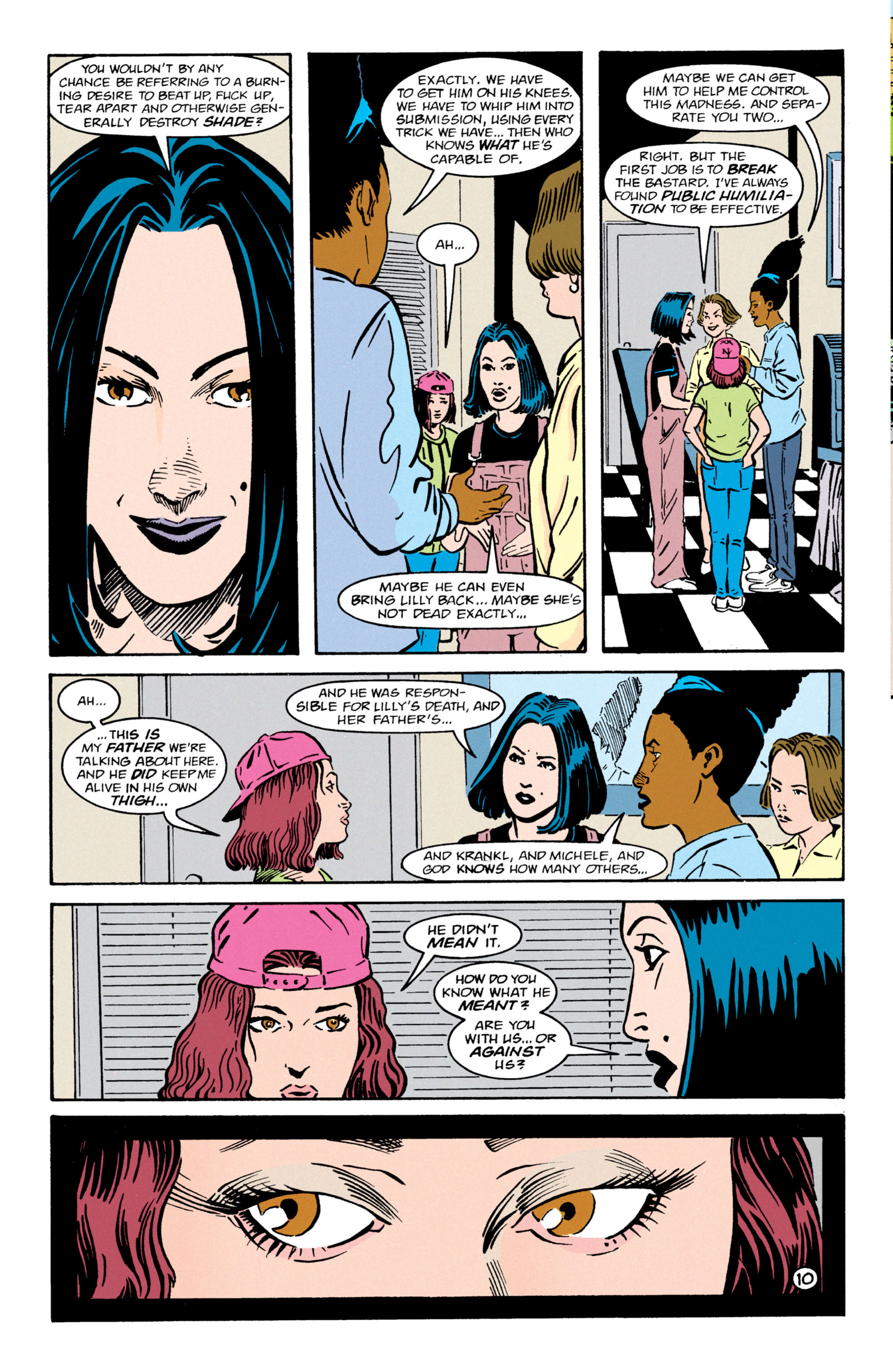 Read online Shade, the Changing Man comic -  Issue #64 - 11