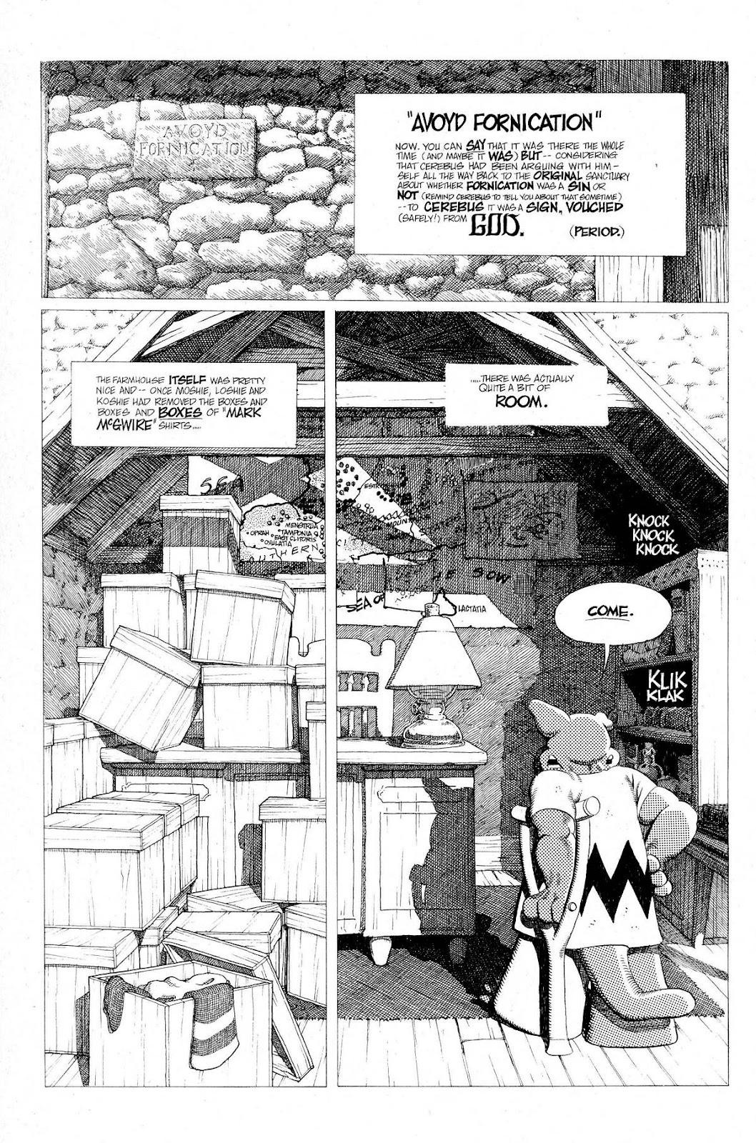 Cerebus Issue #275 #274 - English 6