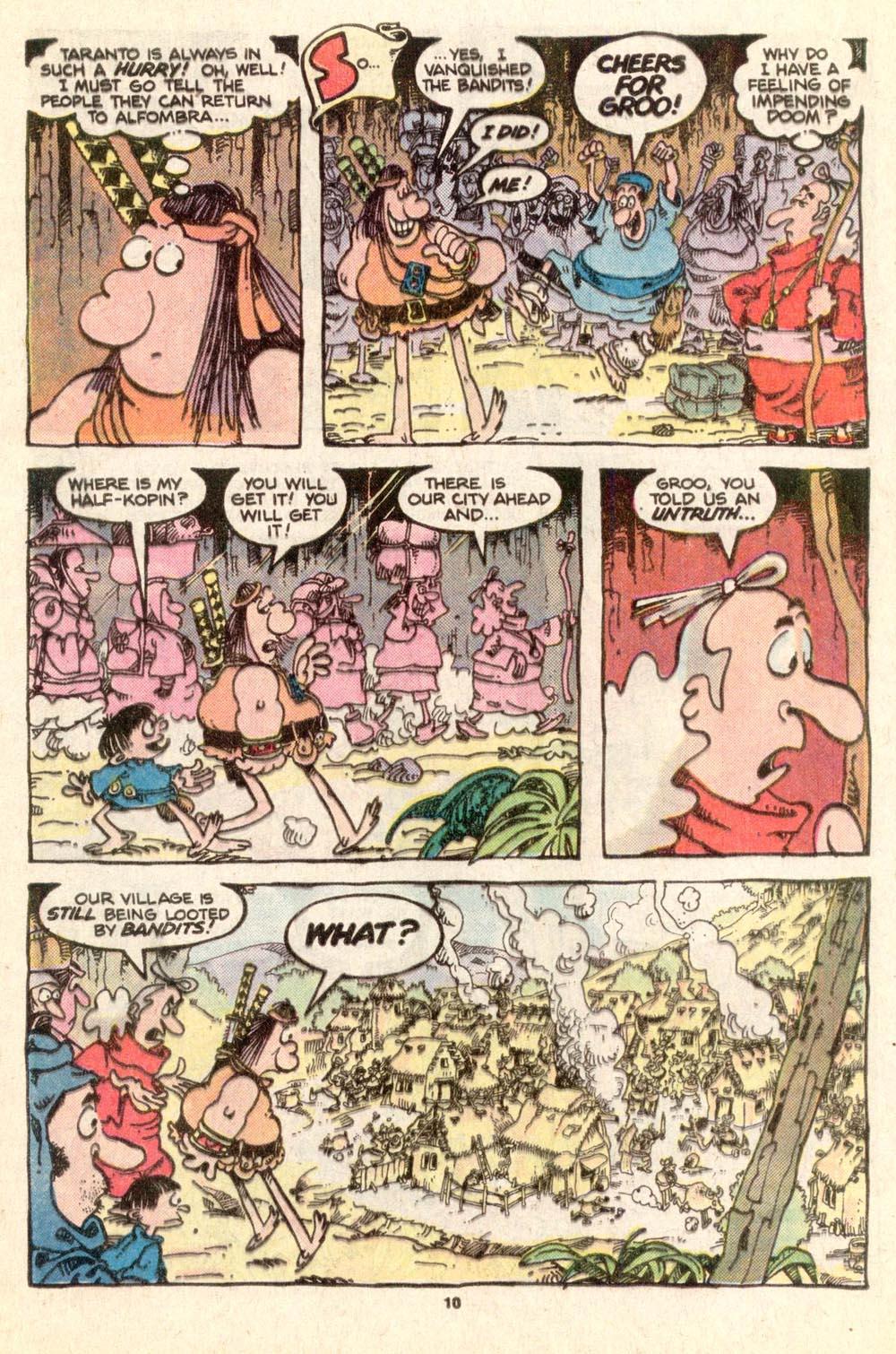Read online Sergio Aragonés Groo the Wanderer comic -  Issue #25 - 10