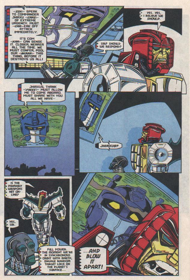 Read online Transformers: Generation 2 comic -  Issue #11 - 17