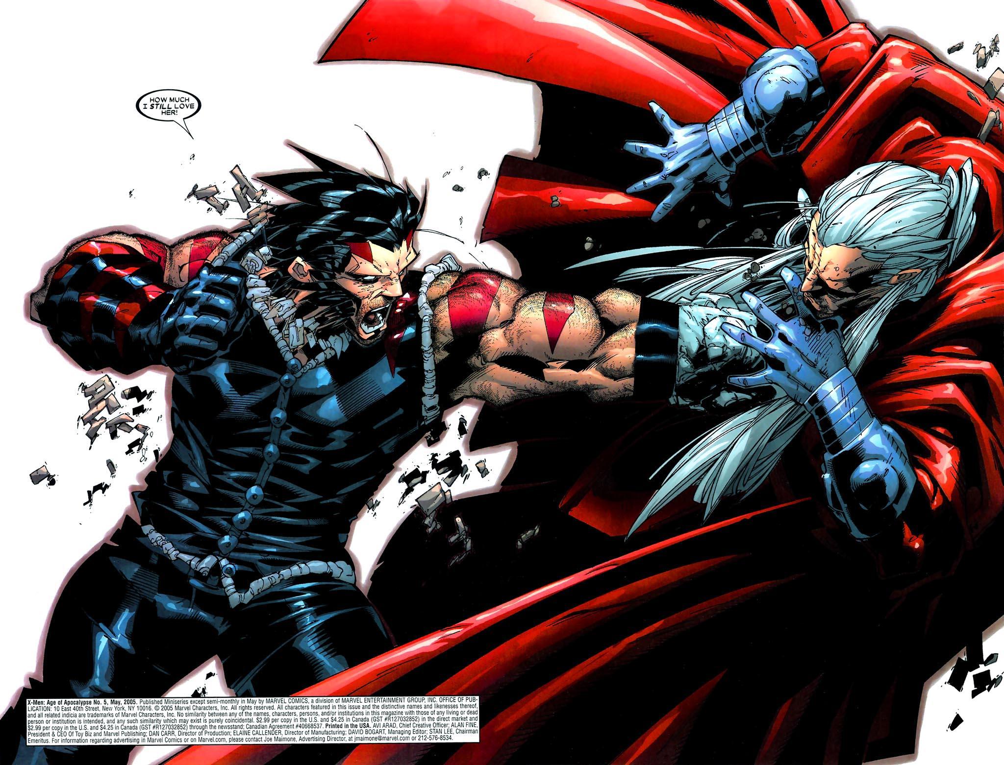 Read online Age of Apocalypse (2005) comic -  Issue #5 - 3
