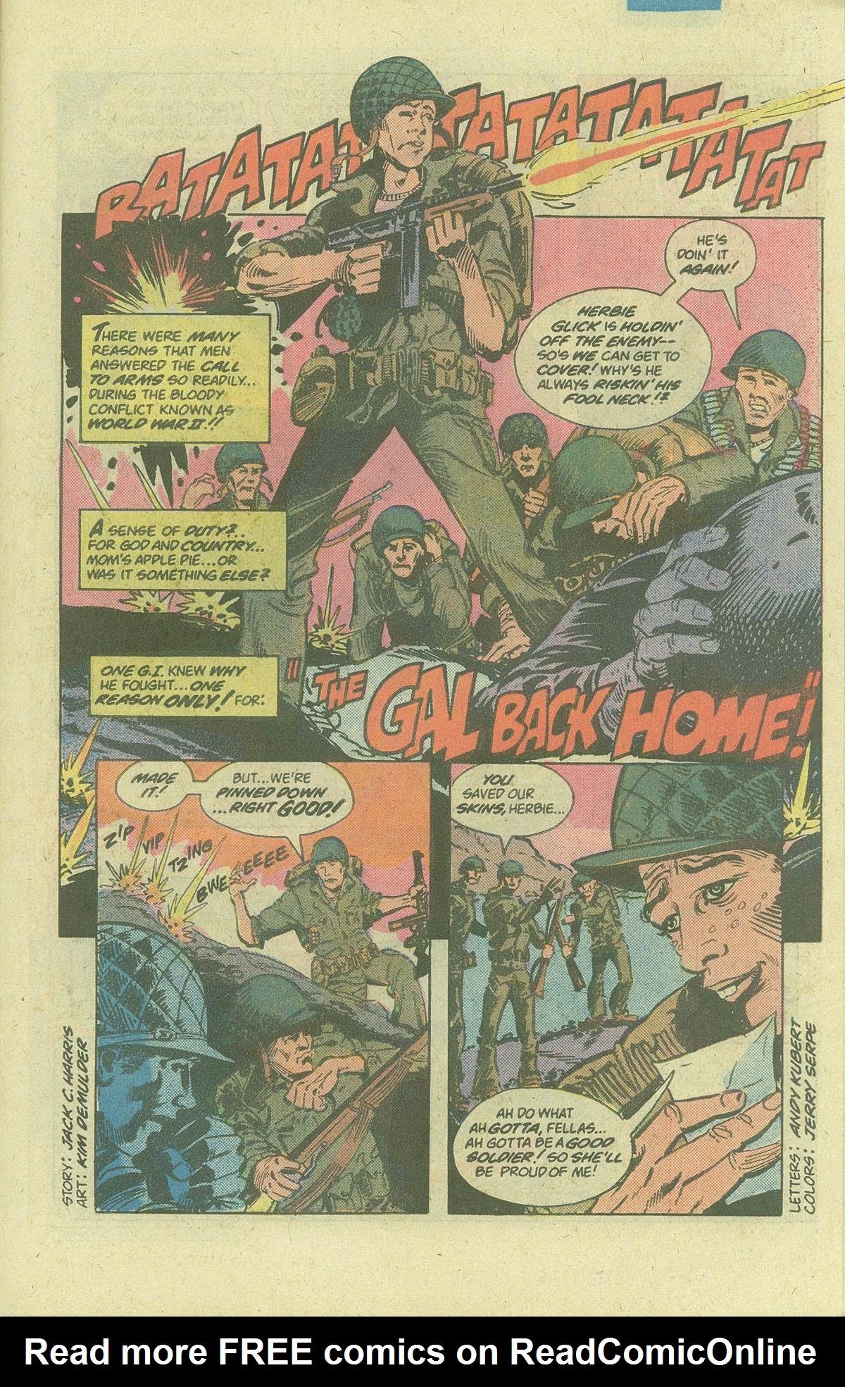 Read online Sgt. Rock comic -  Issue #378 - 26