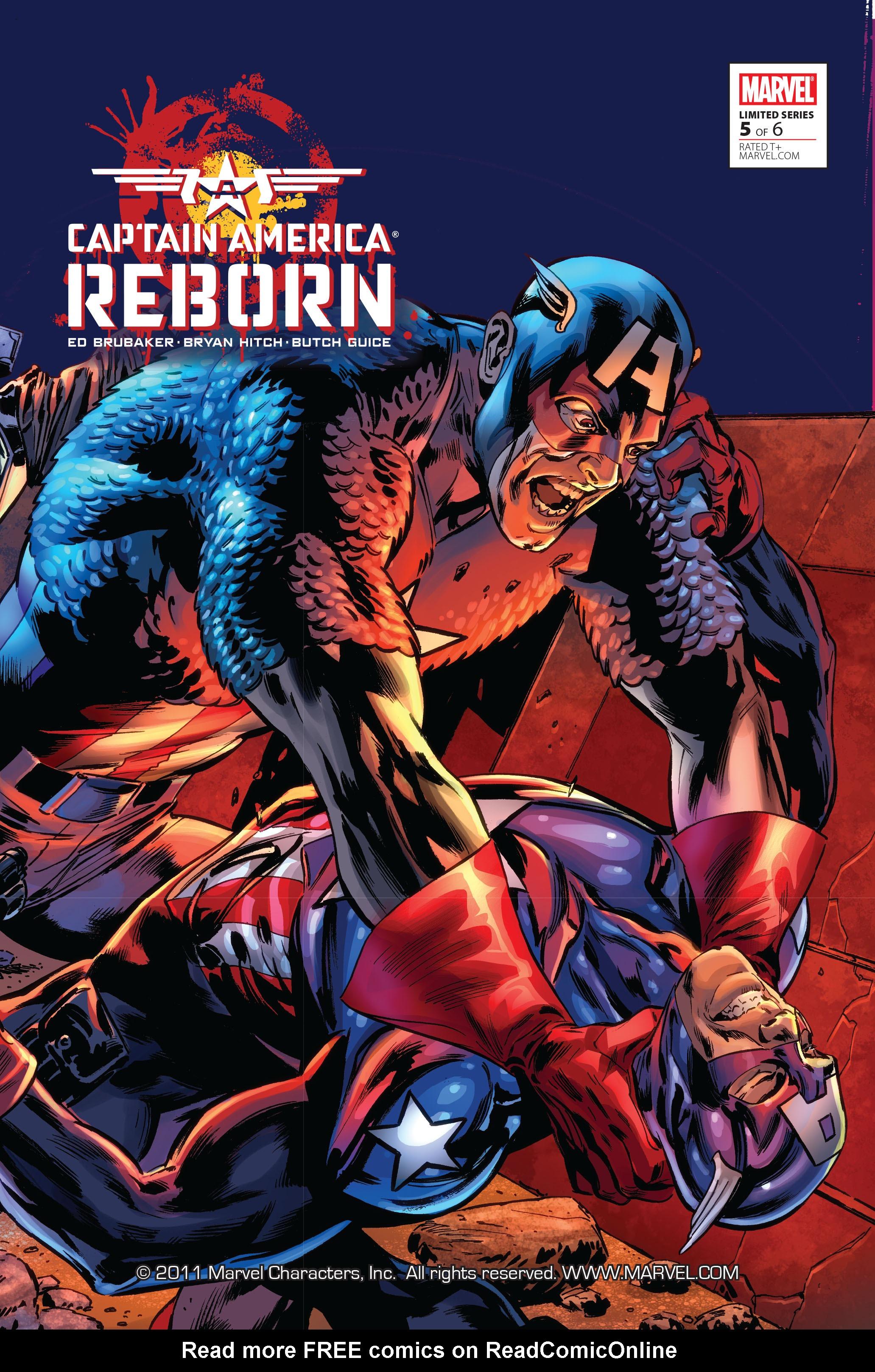 Captain America: Reborn 5 Page 1