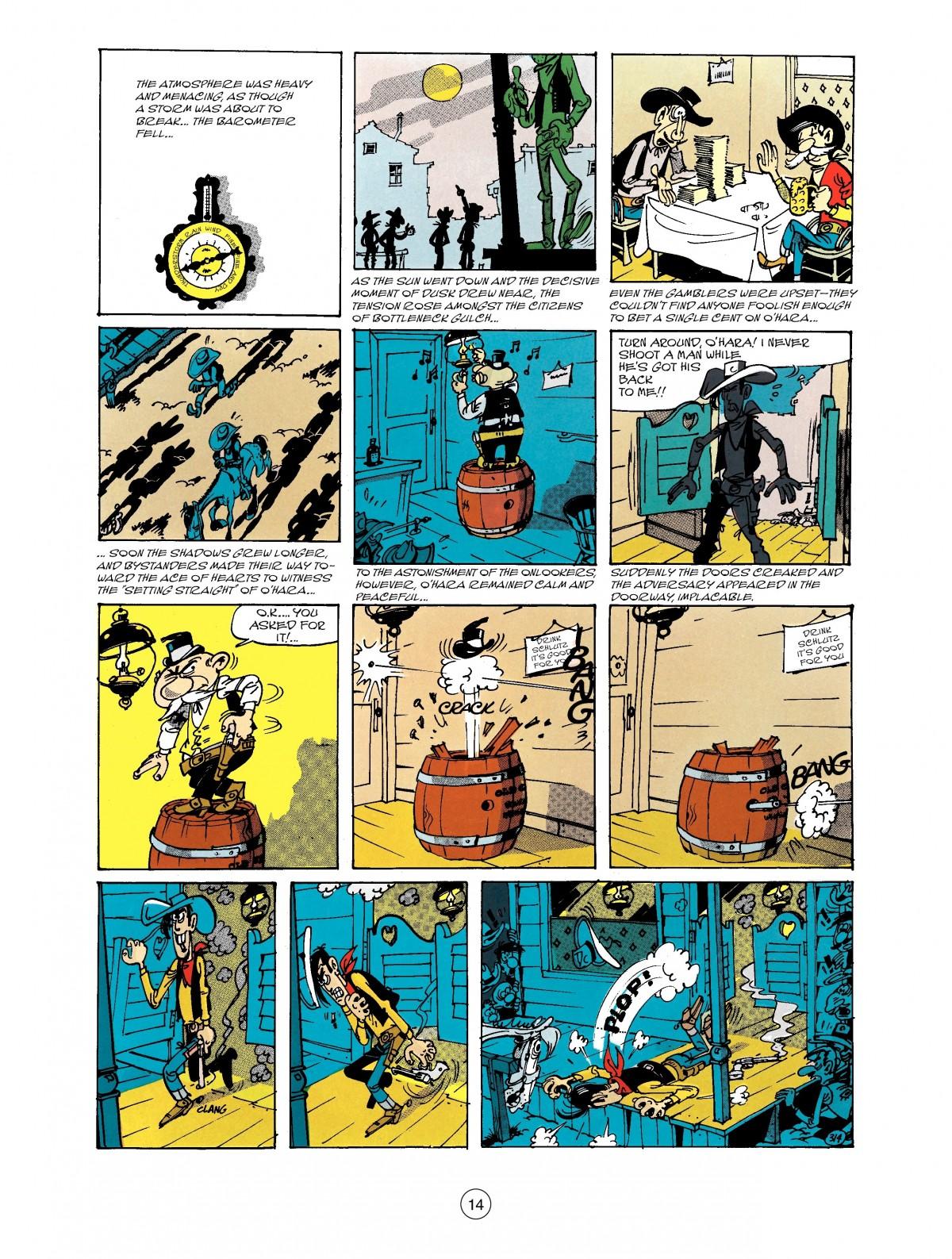 Read online A Lucky Luke Adventure comic -  Issue #40 - 14
