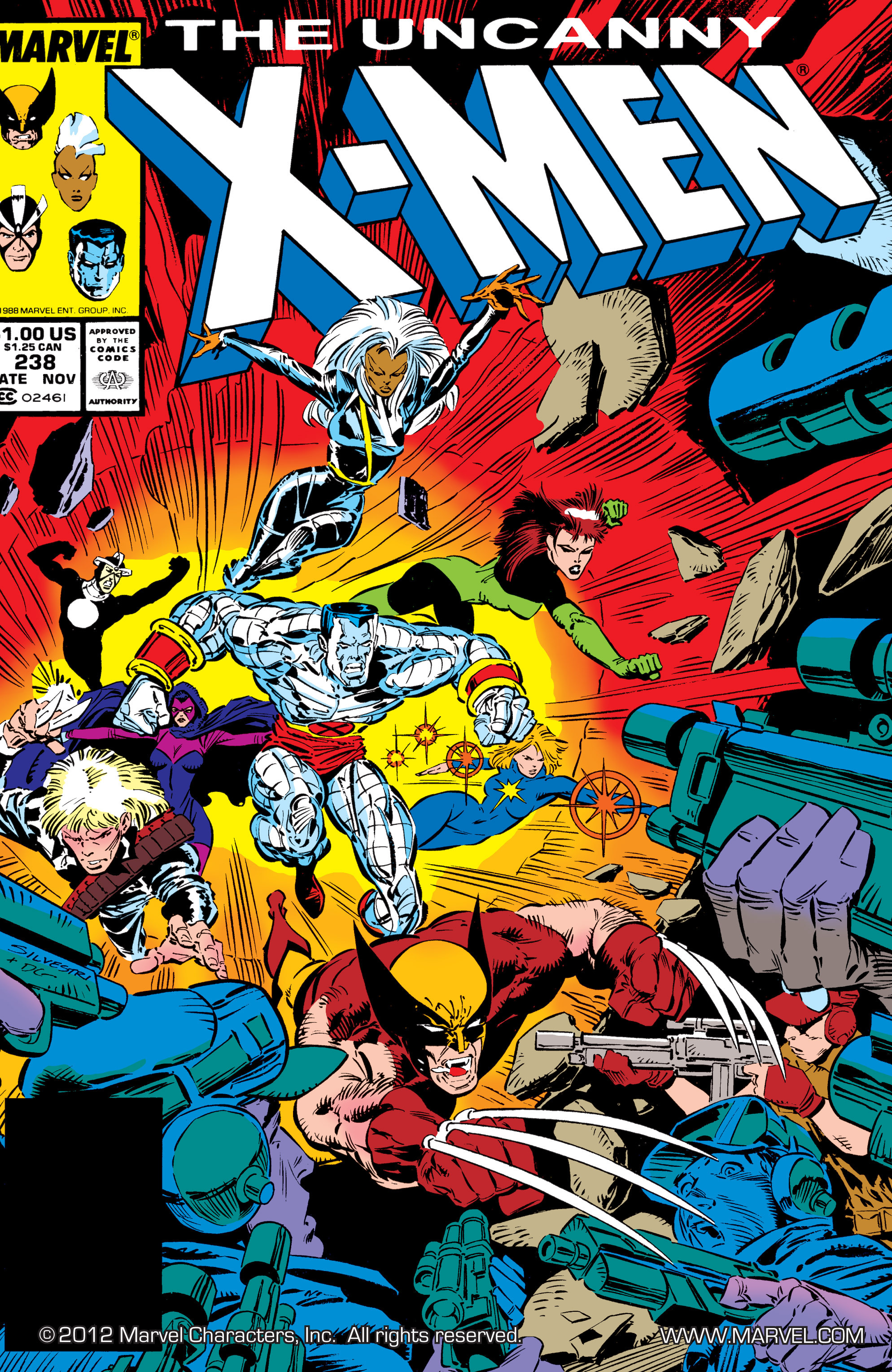 Read online Uncanny X-Men (1963) comic -  Issue #238 - 1