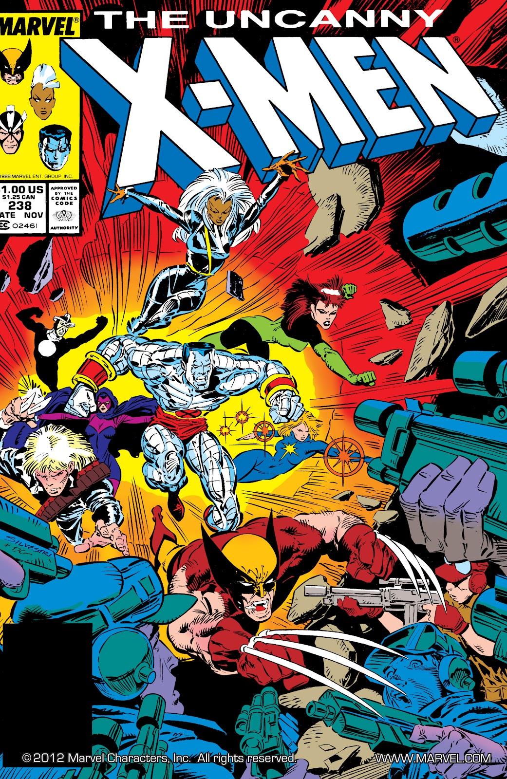 Uncanny X-Men (1963) issue 238 - Page 1