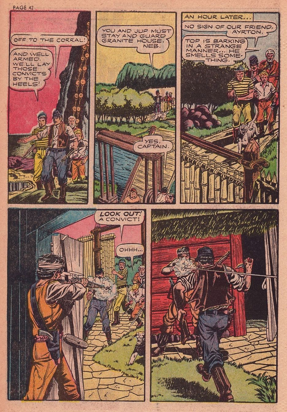 Classics Illustrated issue 34 - Page 39