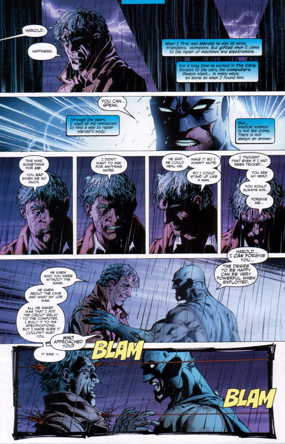 Read online Batman: Hush comic -  Issue #11 - 22