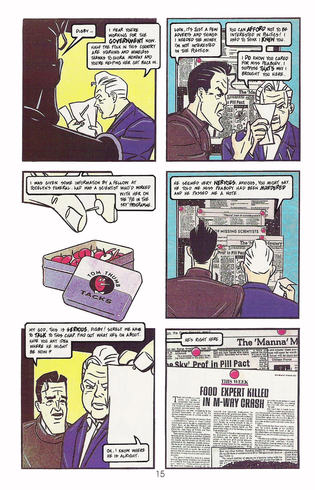 Read online Dare comic -  Issue #2 - 16