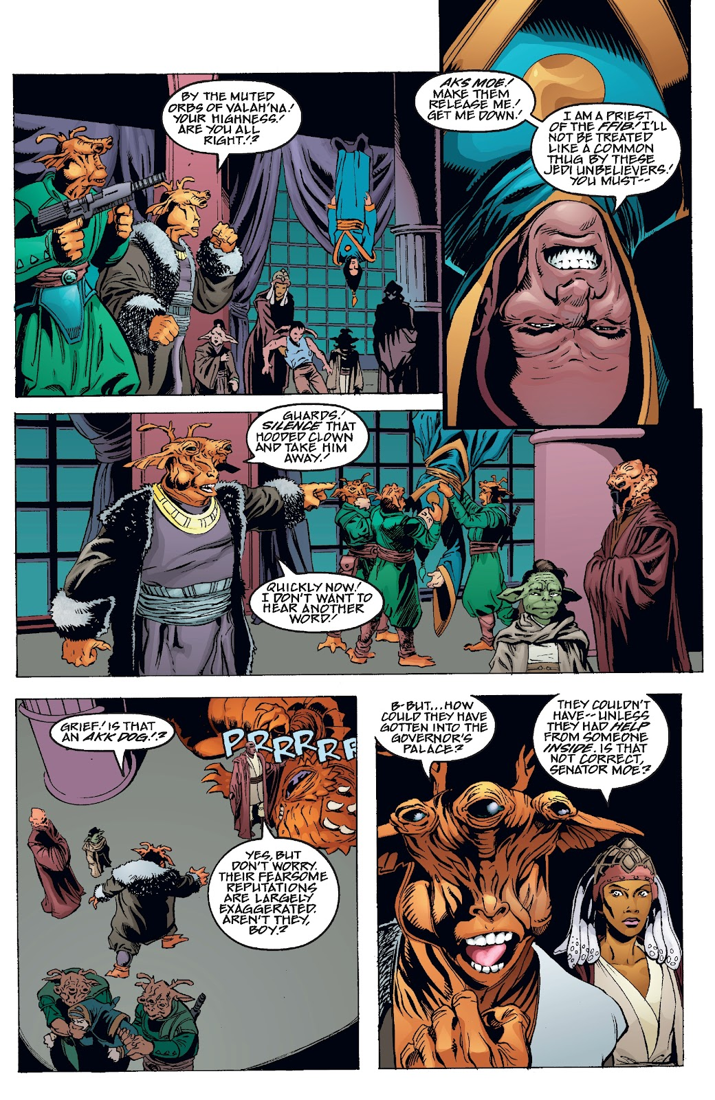 Read online Star Wars Legends Epic Collection: The Menace Revealed comic -  Issue # TPB (Part 4) - 36