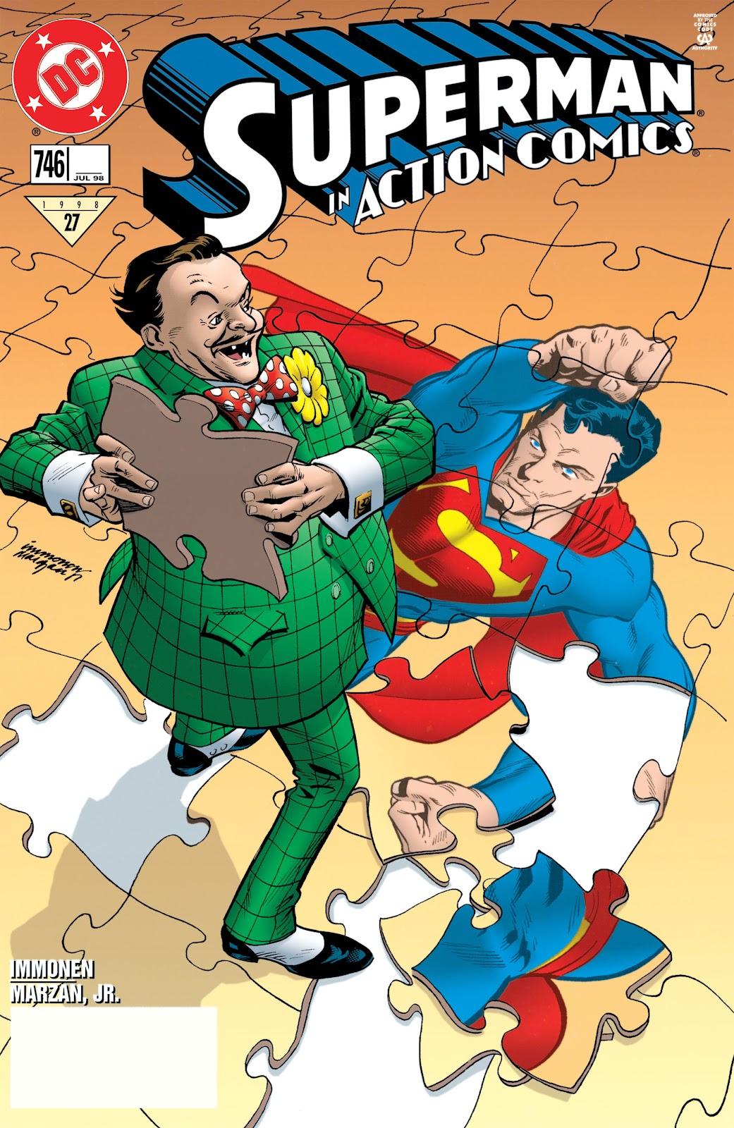 Action Comics (1938) 746 Page 1