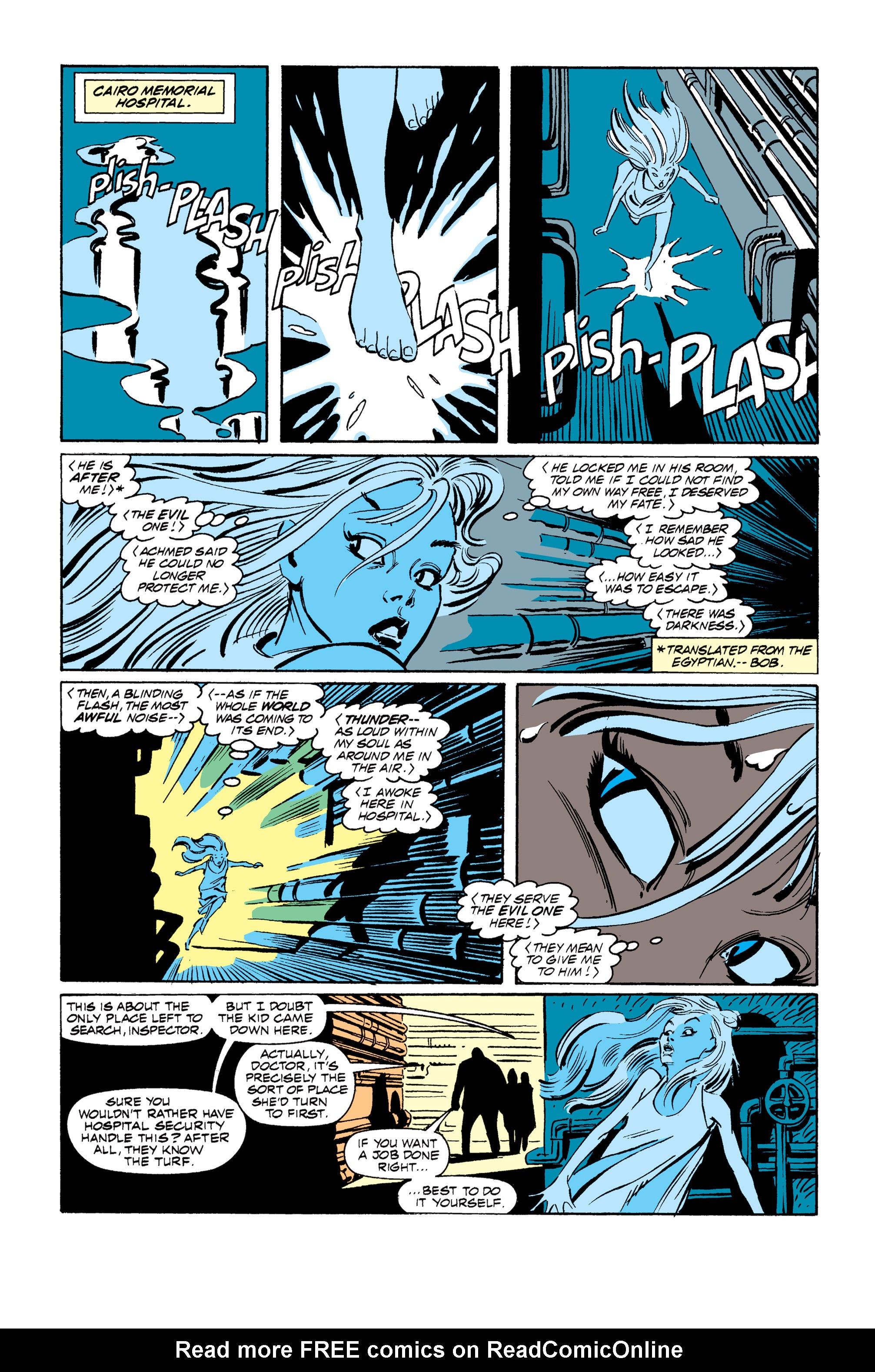 Read online Uncanny X-Men (1963) comic -  Issue #255 - 22