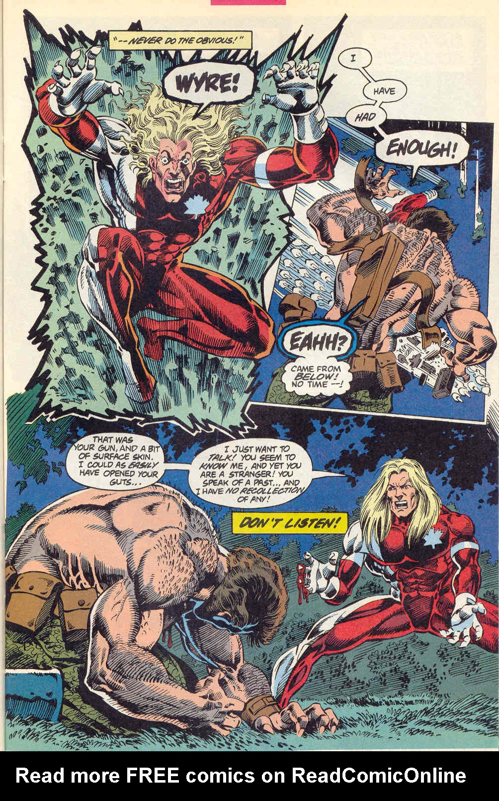 Read online Alpha Flight (1983) comic -  Issue #115 - 10