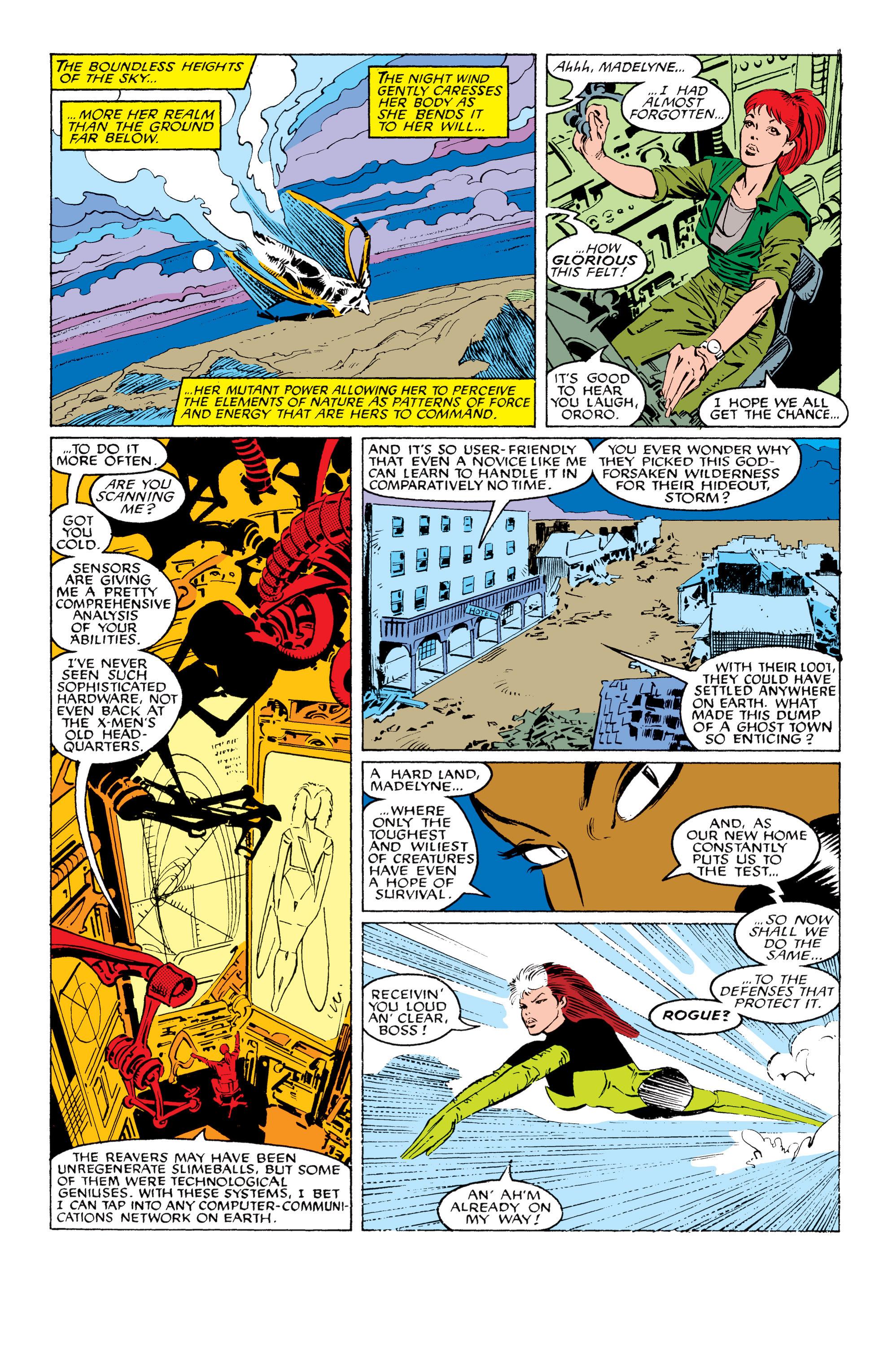 Read online Uncanny X-Men (1963) comic -  Issue #230 - 3