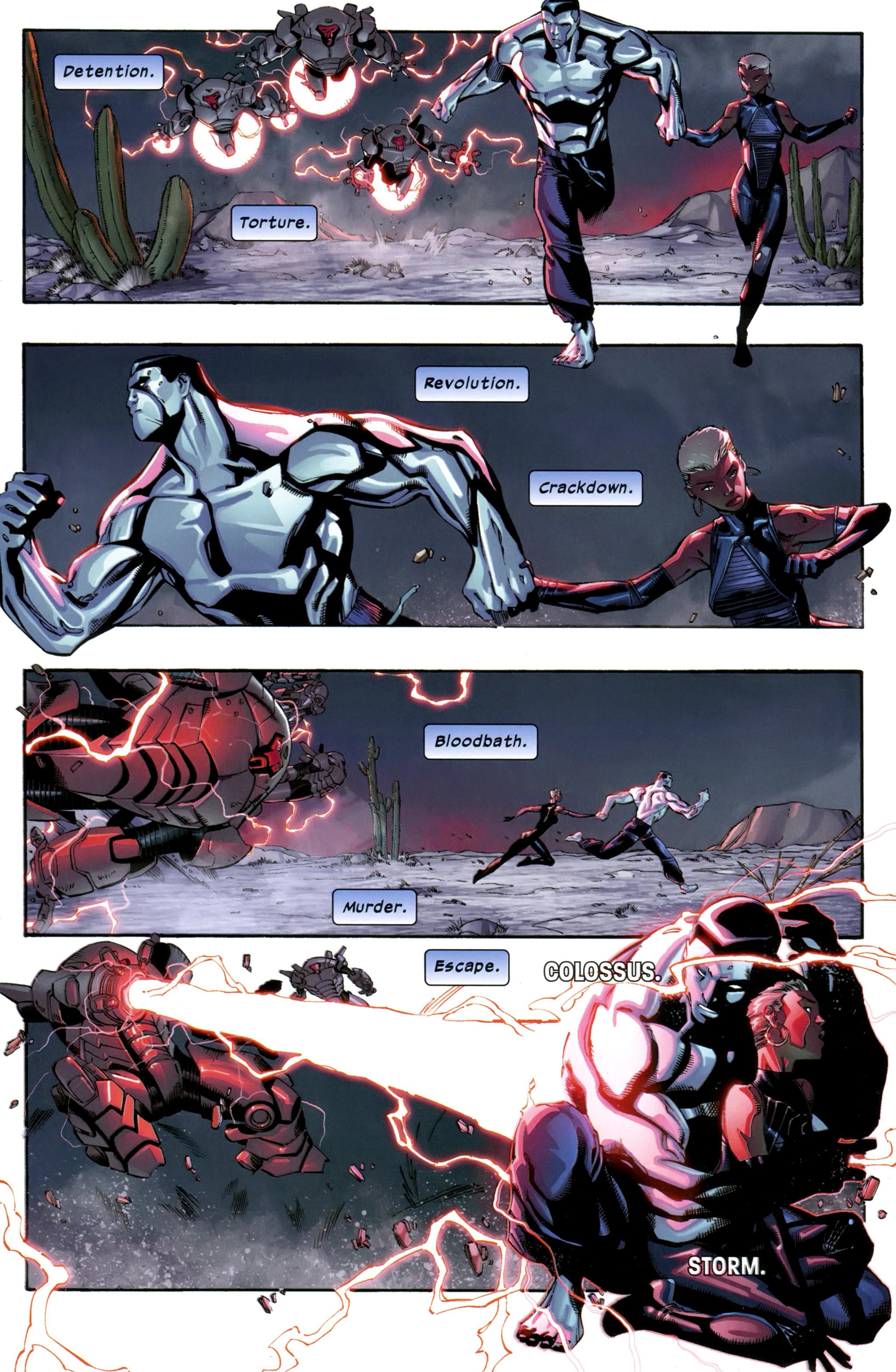 Read online Ultimate Comics X-Men comic -  Issue #23 - 3