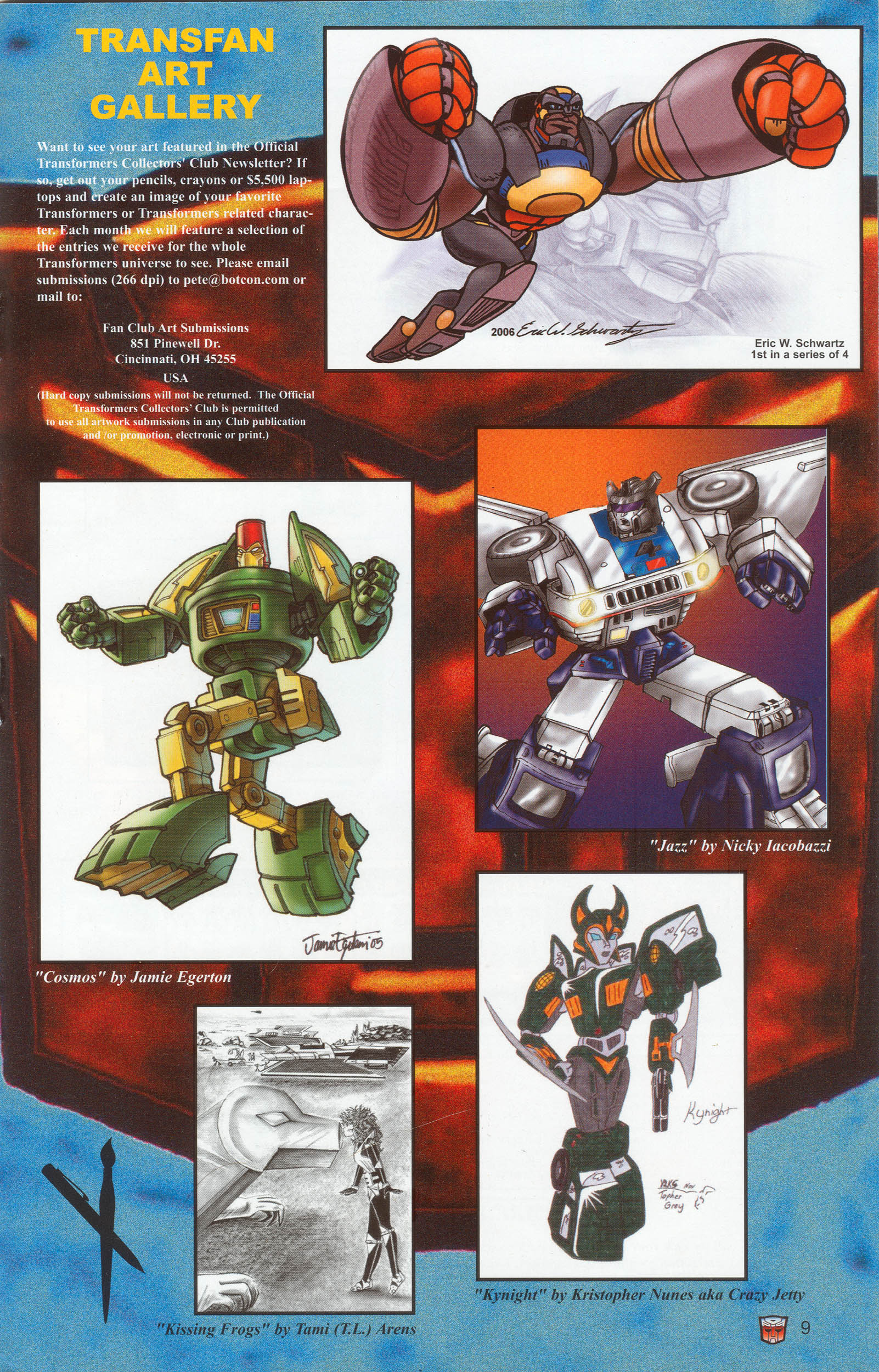 Read online Transformers: Collectors' Club comic -  Issue #9 - 9