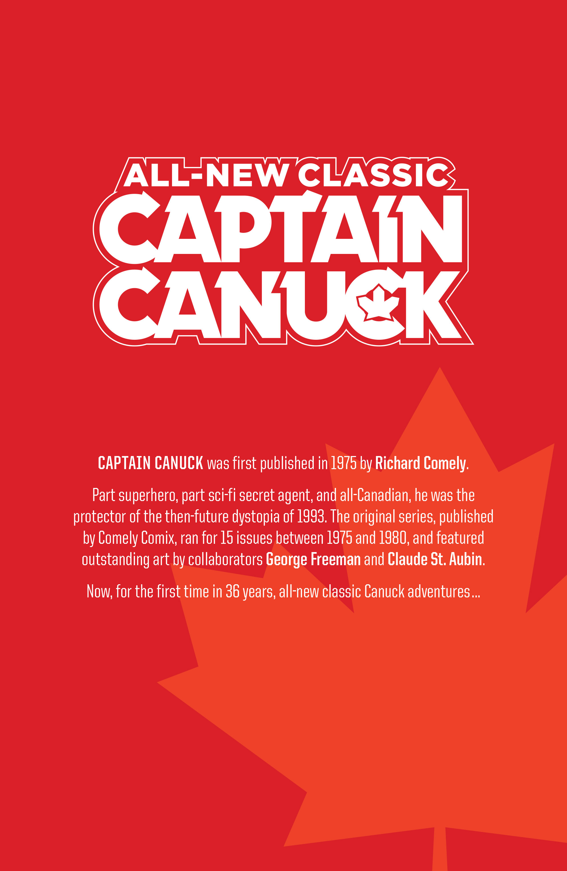 Read online All-New Classic Captain Canuck comic -  Issue #0 - 2