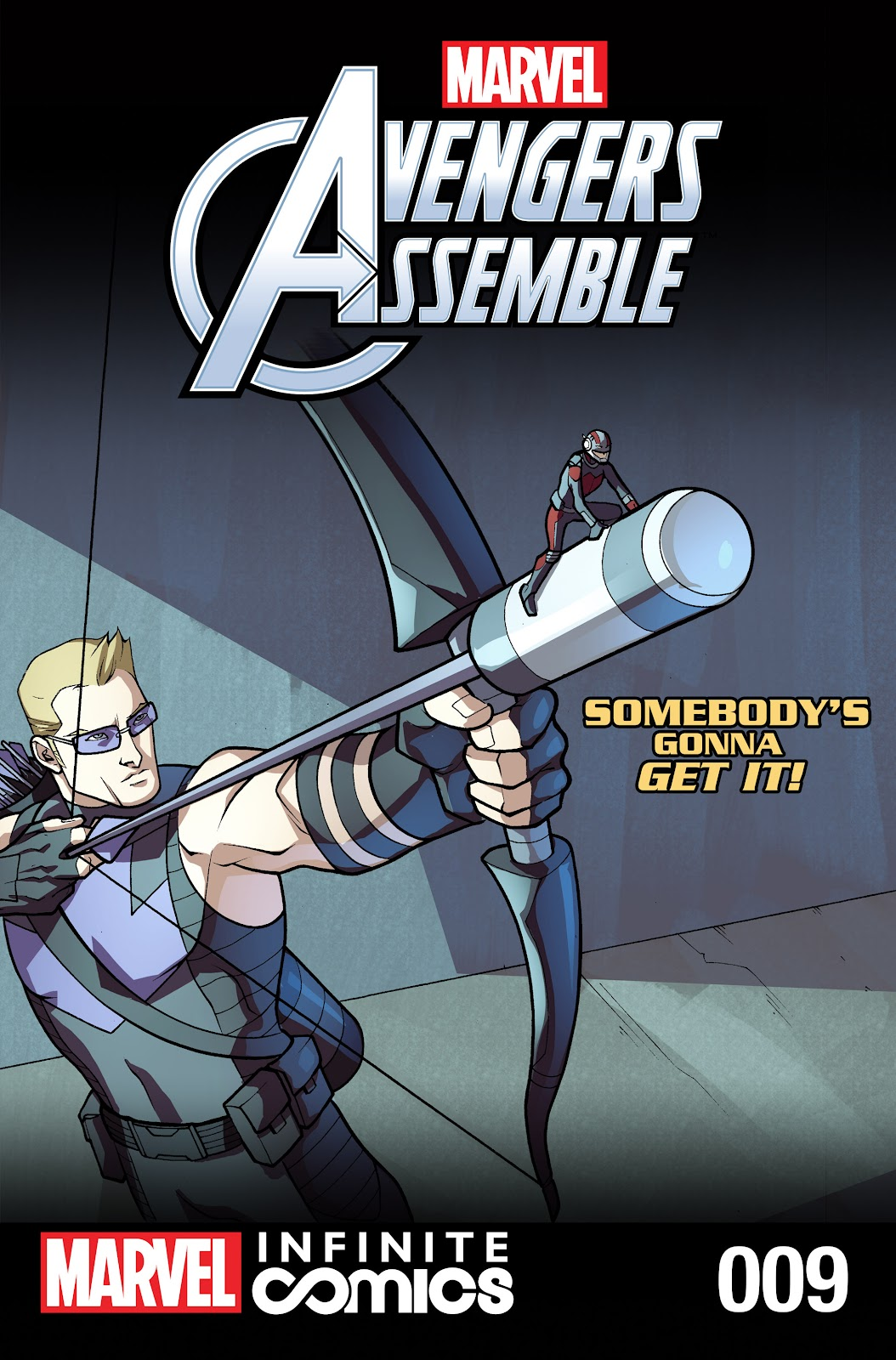 Marvel Universe Avengers Infinite Comic 9 Page 1