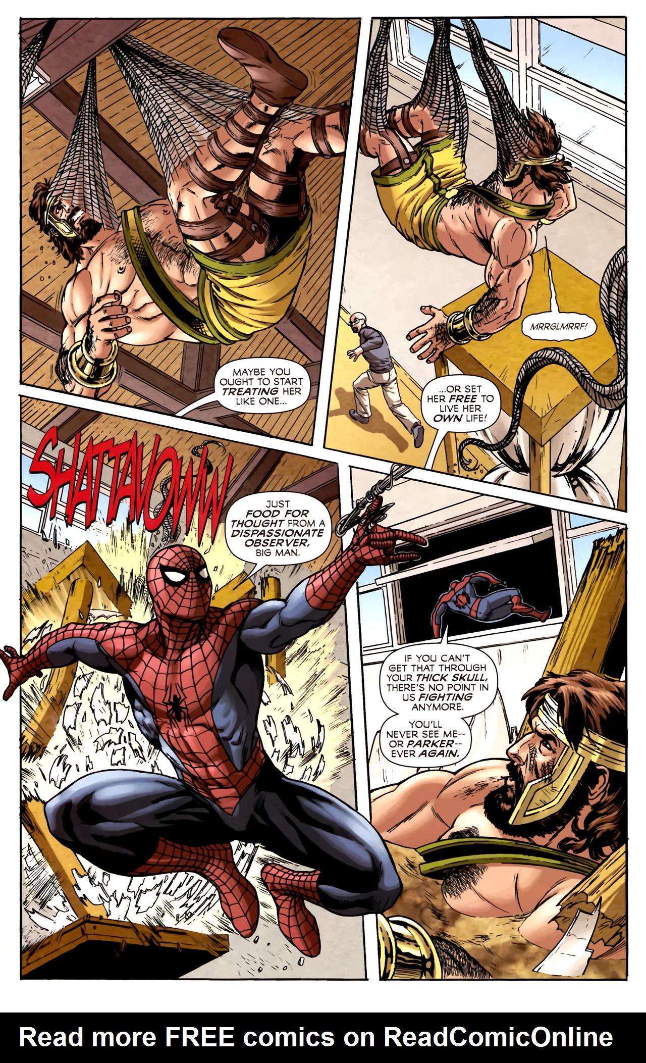 Read online Assault on New Olympus Prologue comic -  Issue #Assault on New Olympus Prologue Full - 21