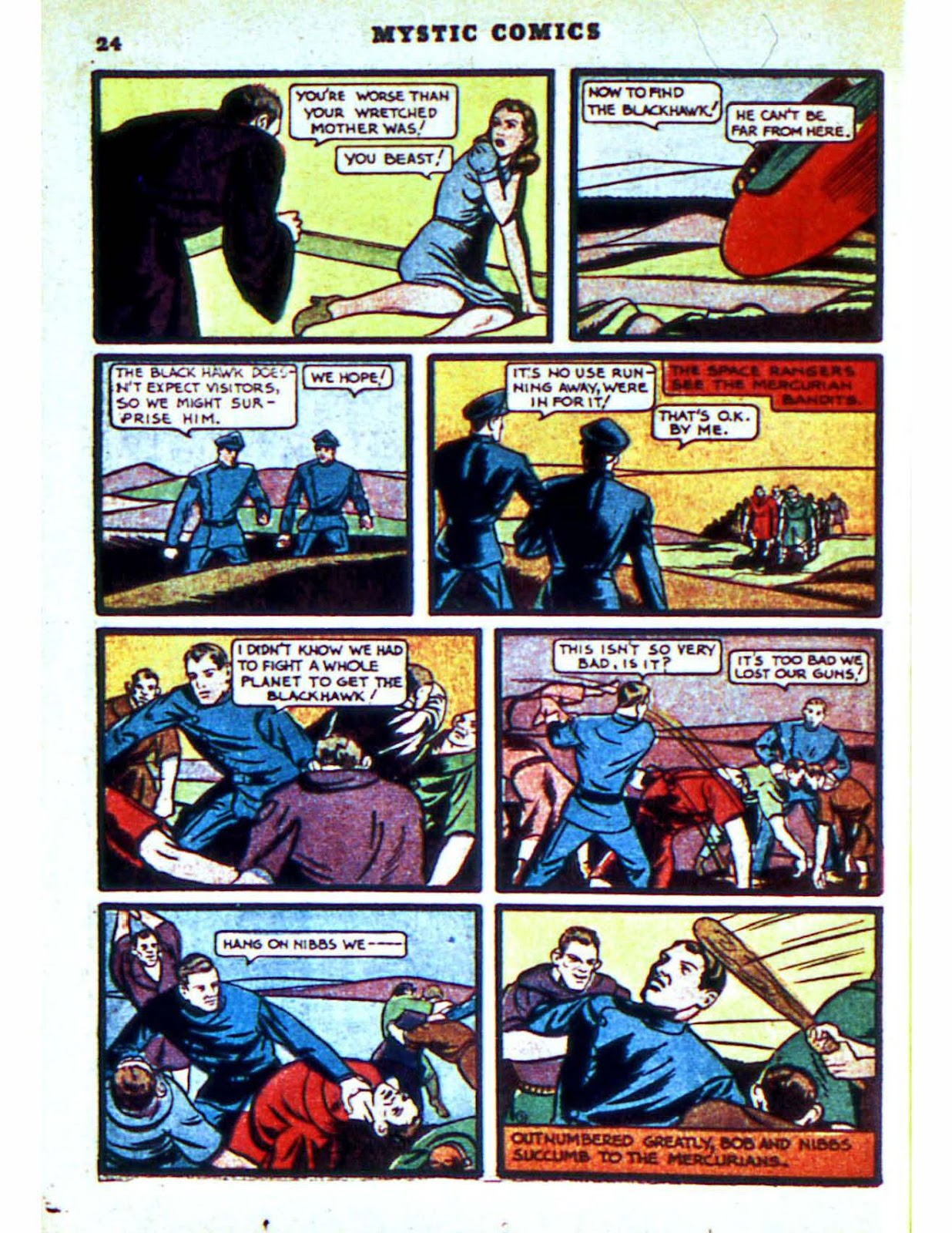 Mystic Comics (1940) issue 2 - Page 26