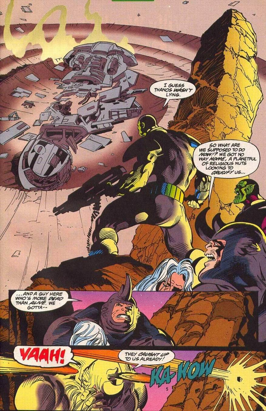 Read online Secret Defenders comic -  Issue #14 - 6