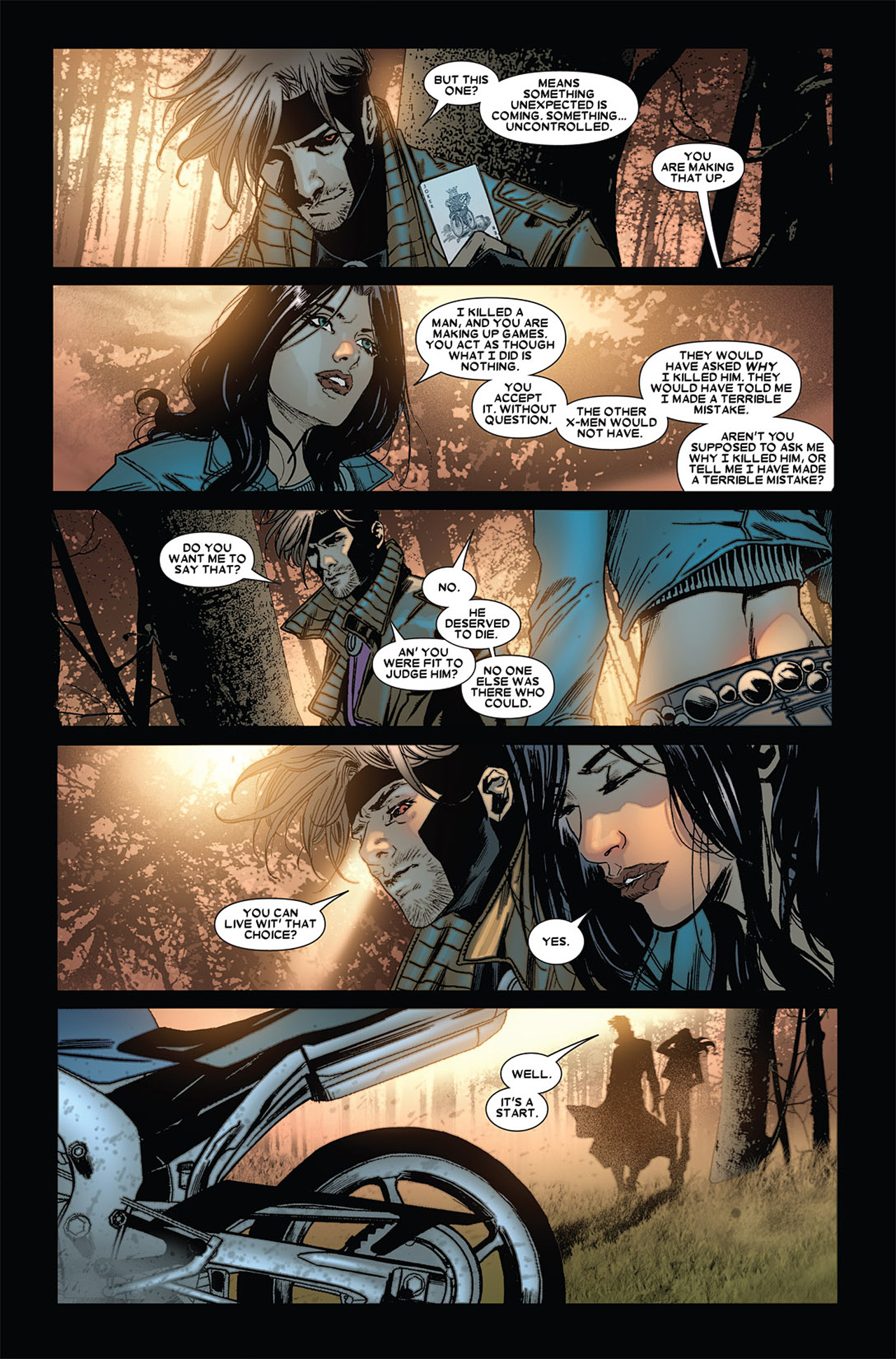 Read online X-23 (2010) comic -  Issue #4 - 18