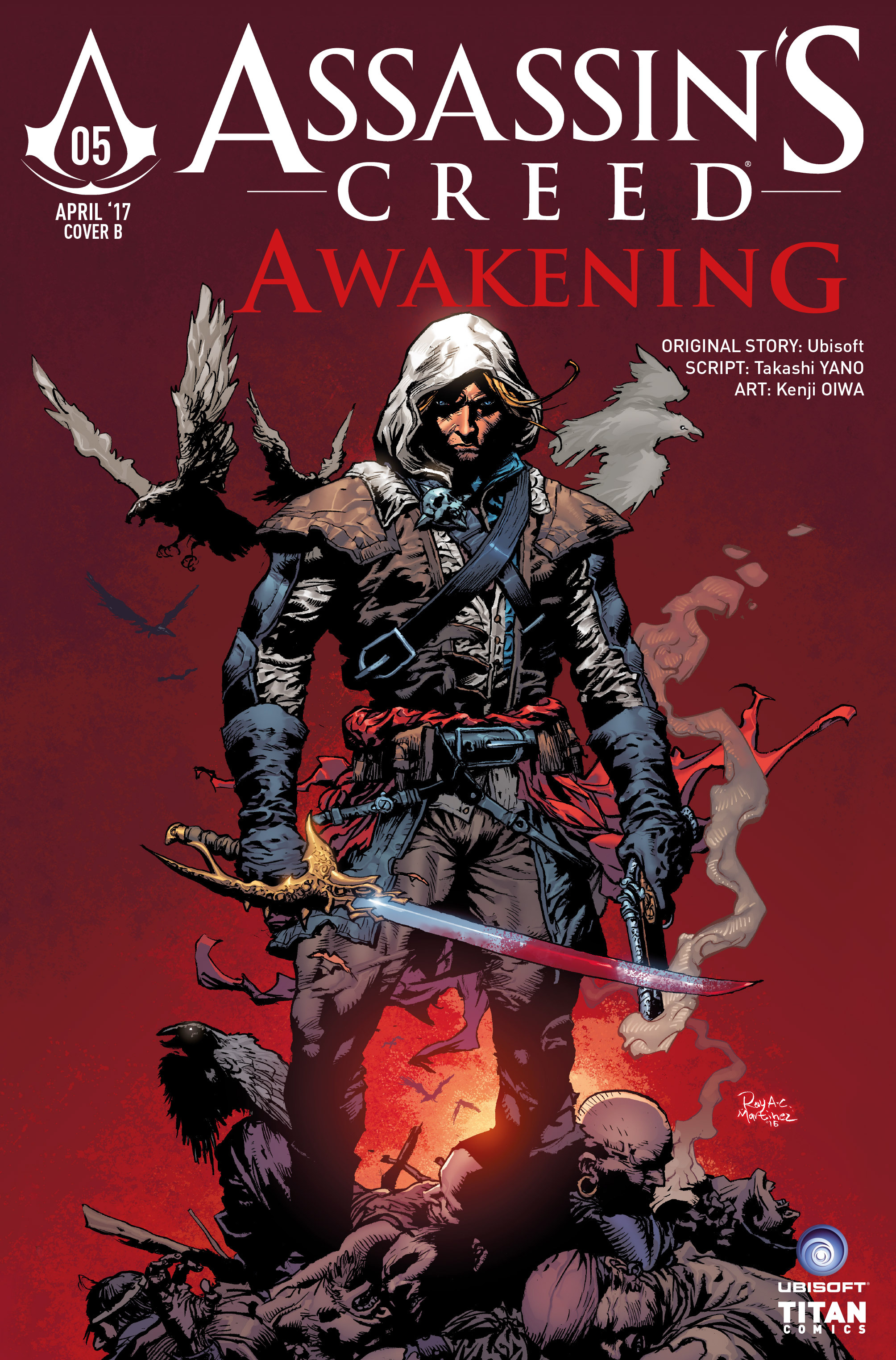 Read online Assassin's Creed: Awakening comic -  Issue #5 - 38