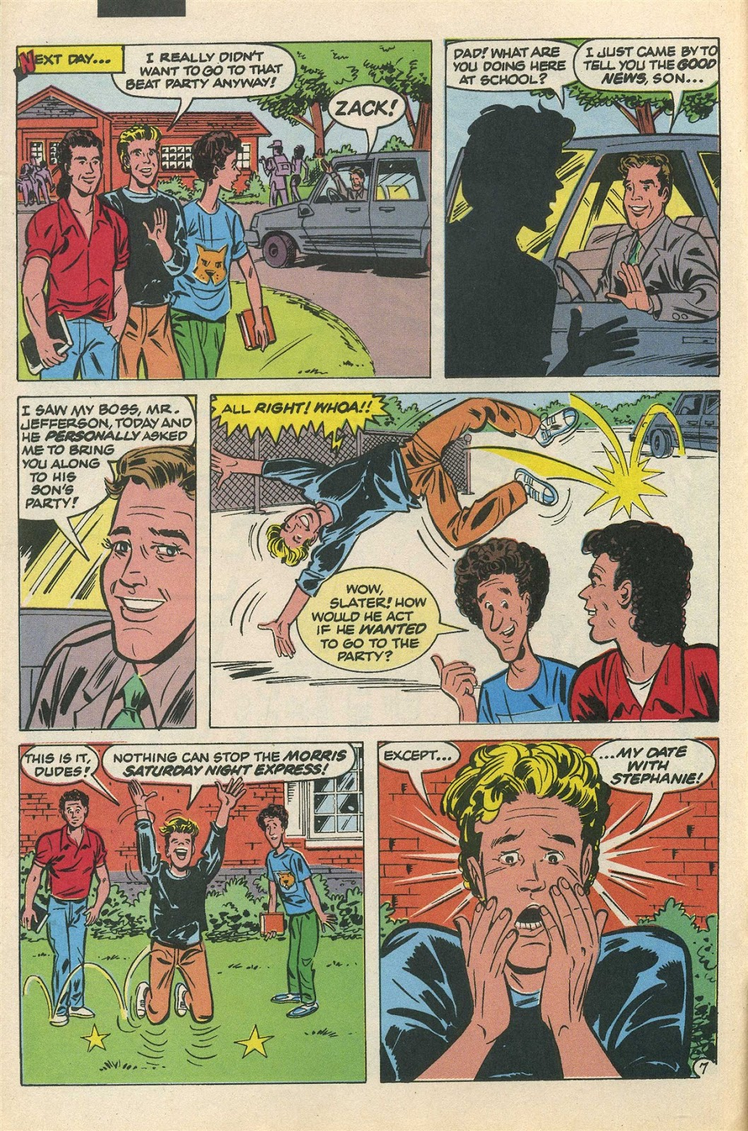 Read online Saved By The Bell comic -  Issue #3 - 12