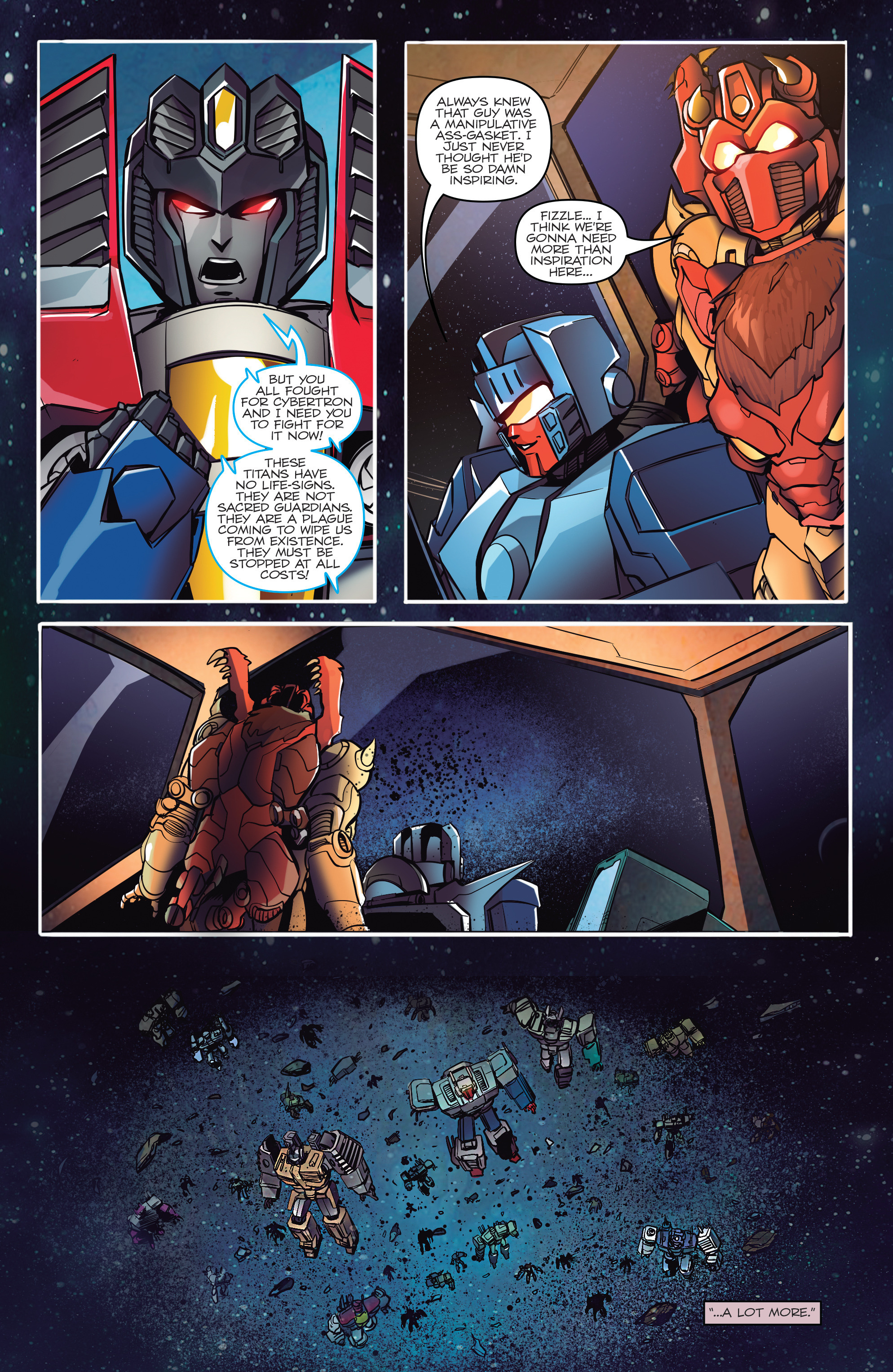 Read online Transformers: Till All Are One comic -  Issue #5 - 14