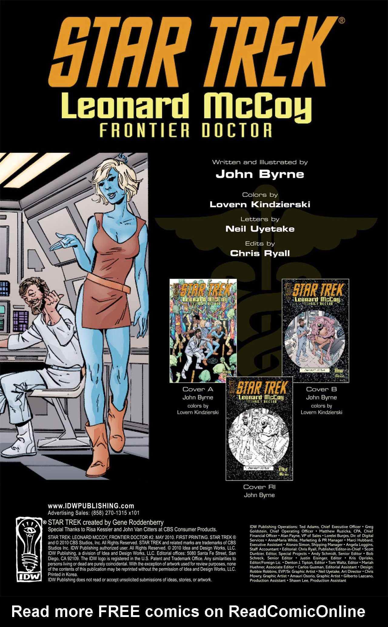 Read online Star Trek: Leonard McCoy, Frontier Doctor comic -  Issue #2 - 4
