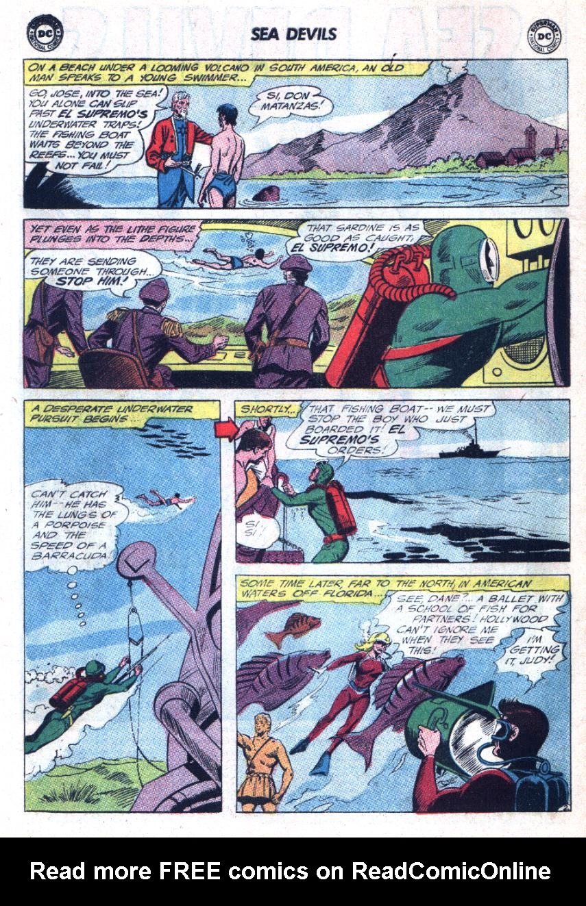 Read online Sea Devils comic -  Issue #25 - 5