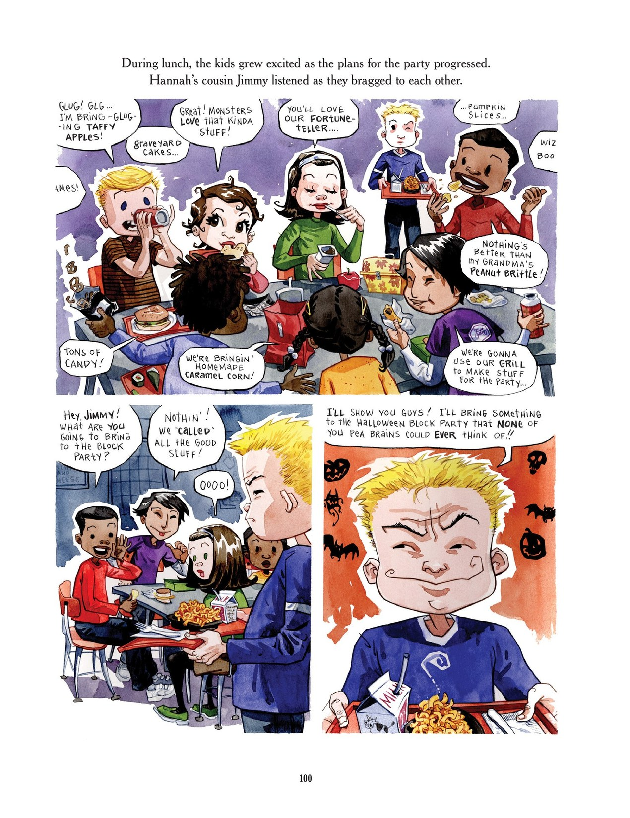 Read online Scary Godmother comic -  Issue # TPB - 100