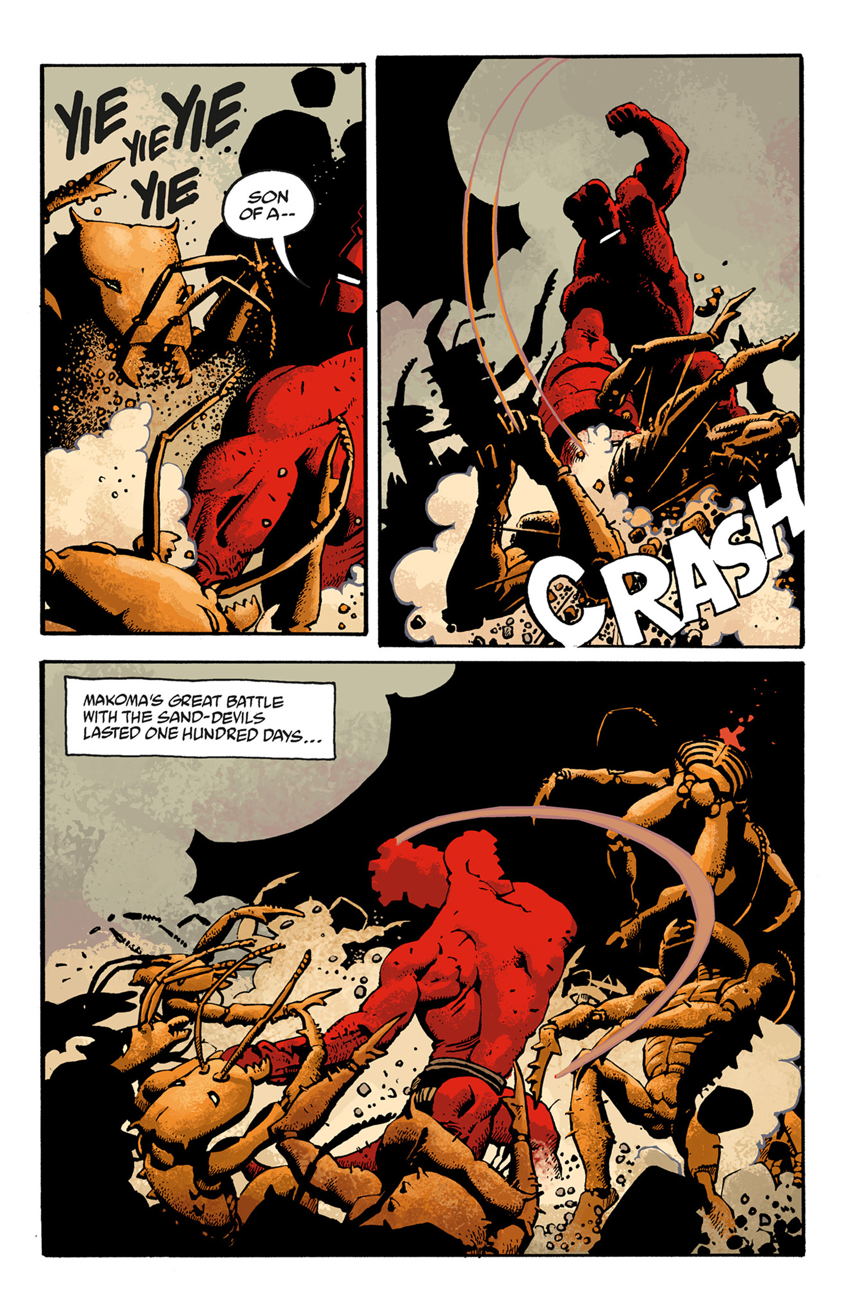 Read online Hellboy: The Troll Witch and Others comic -  Issue # TPB - 112