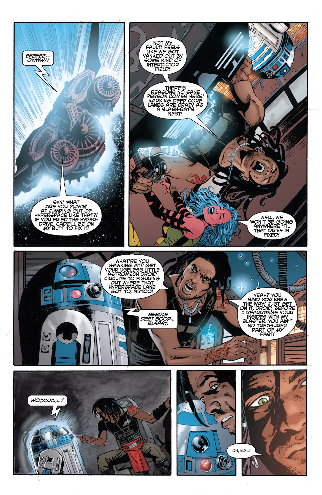 Read online Star Wars Legends: Legacy - Epic Collection comic -  Issue # TPB 2 (Part 3) - 5