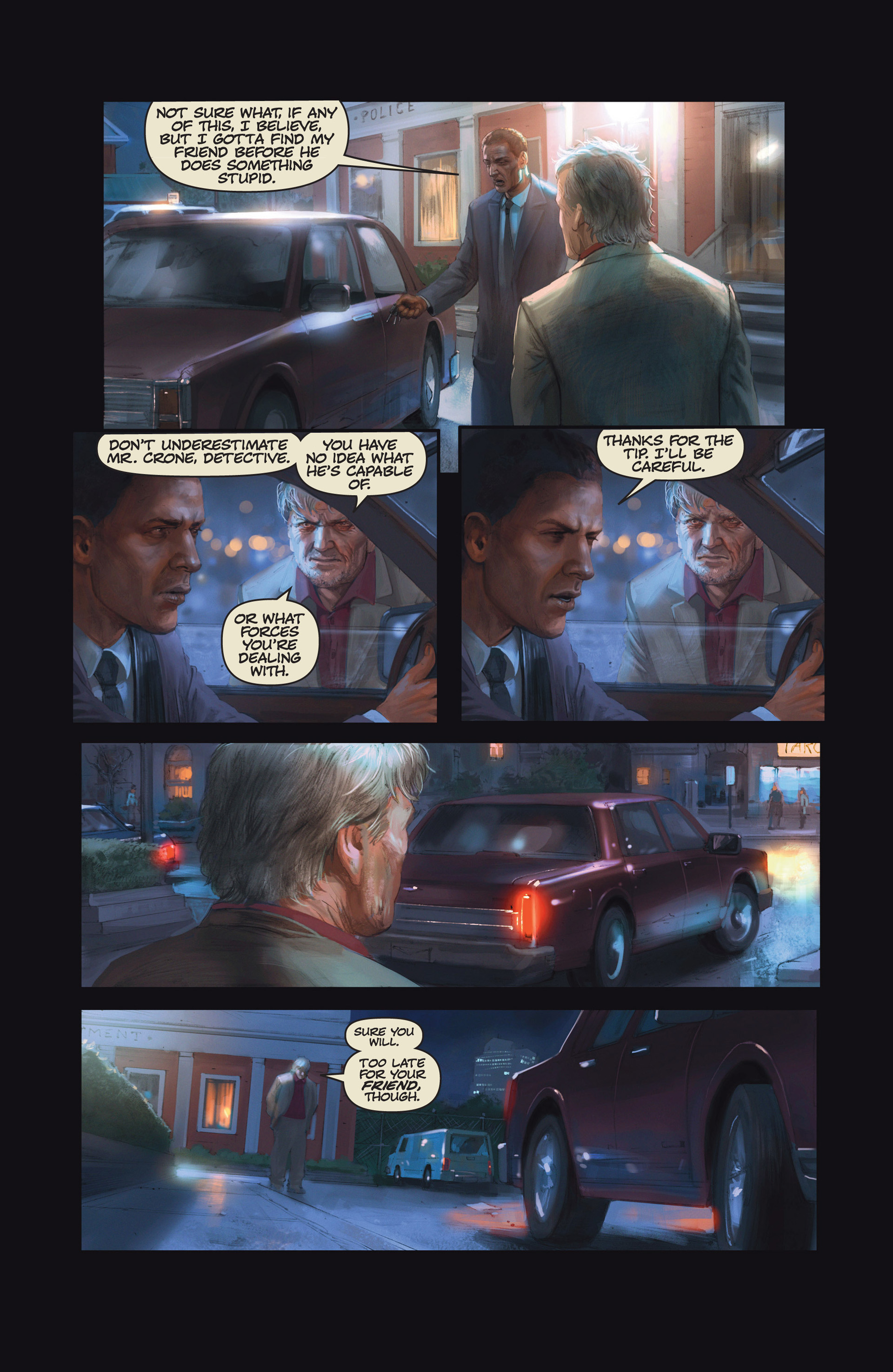 Read online Abattoir comic -  Issue #6 - 14