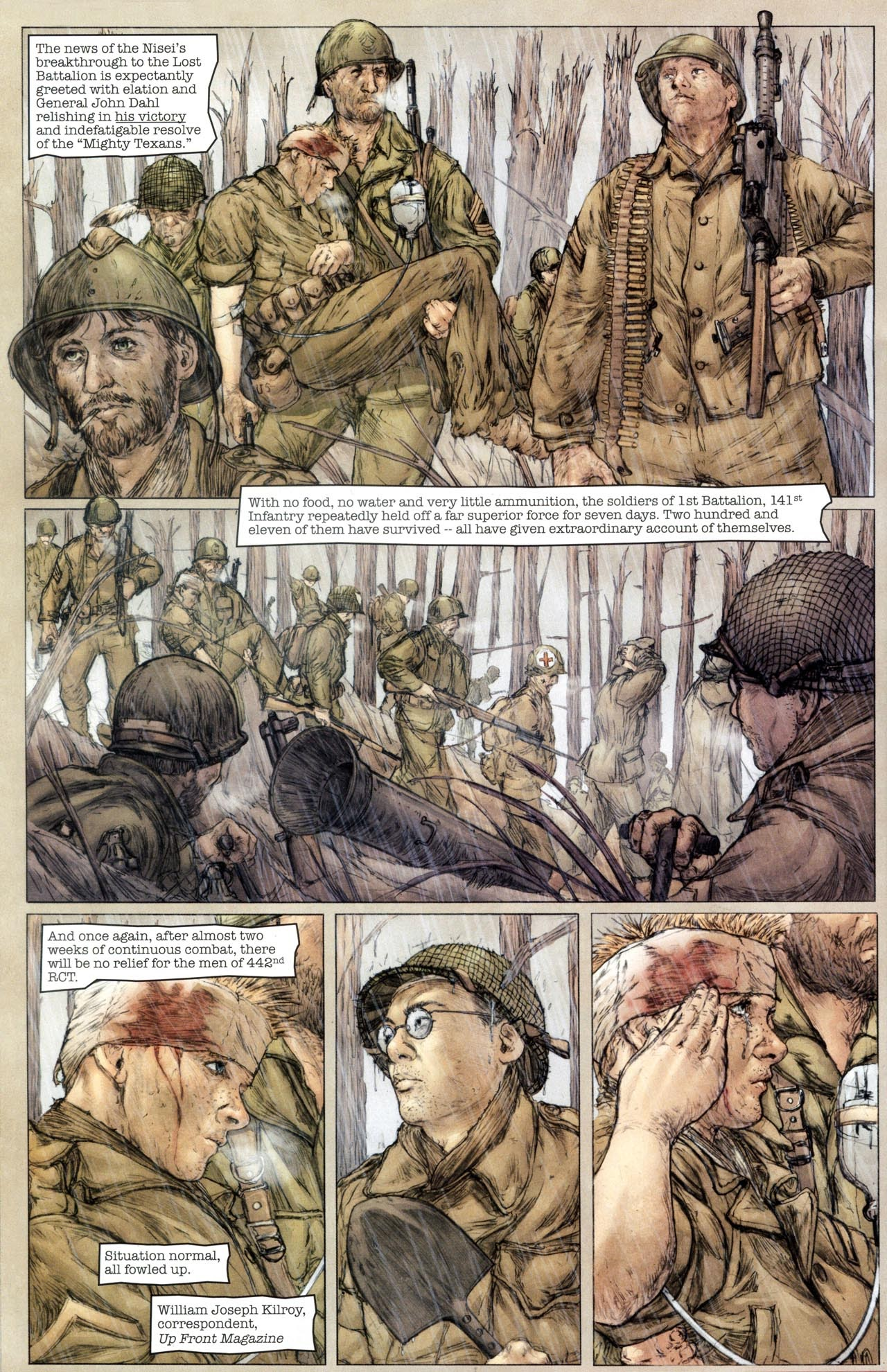 Read online Sgt. Rock: The Lost Battalion comic -  Issue #6 - 14