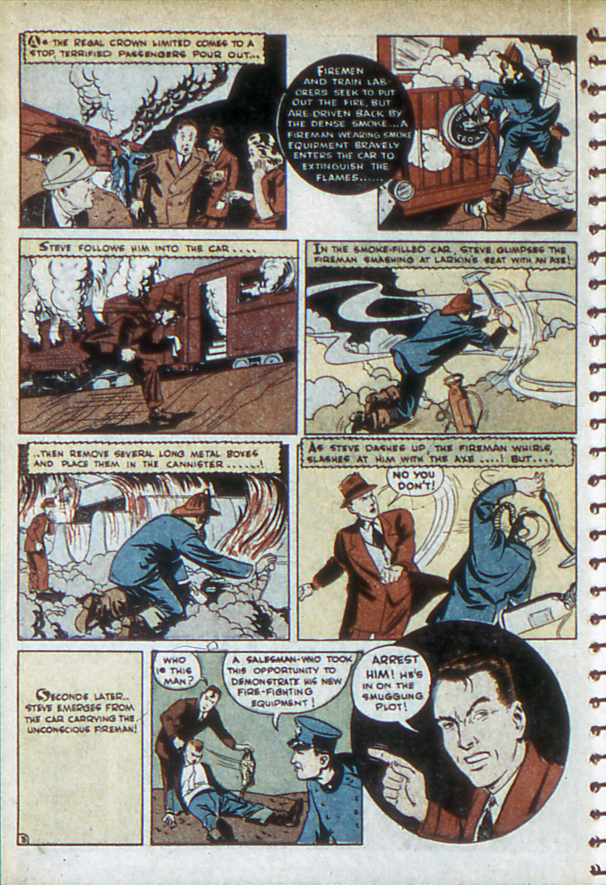 Read online Adventure Comics (1938) comic -  Issue #52 - 38