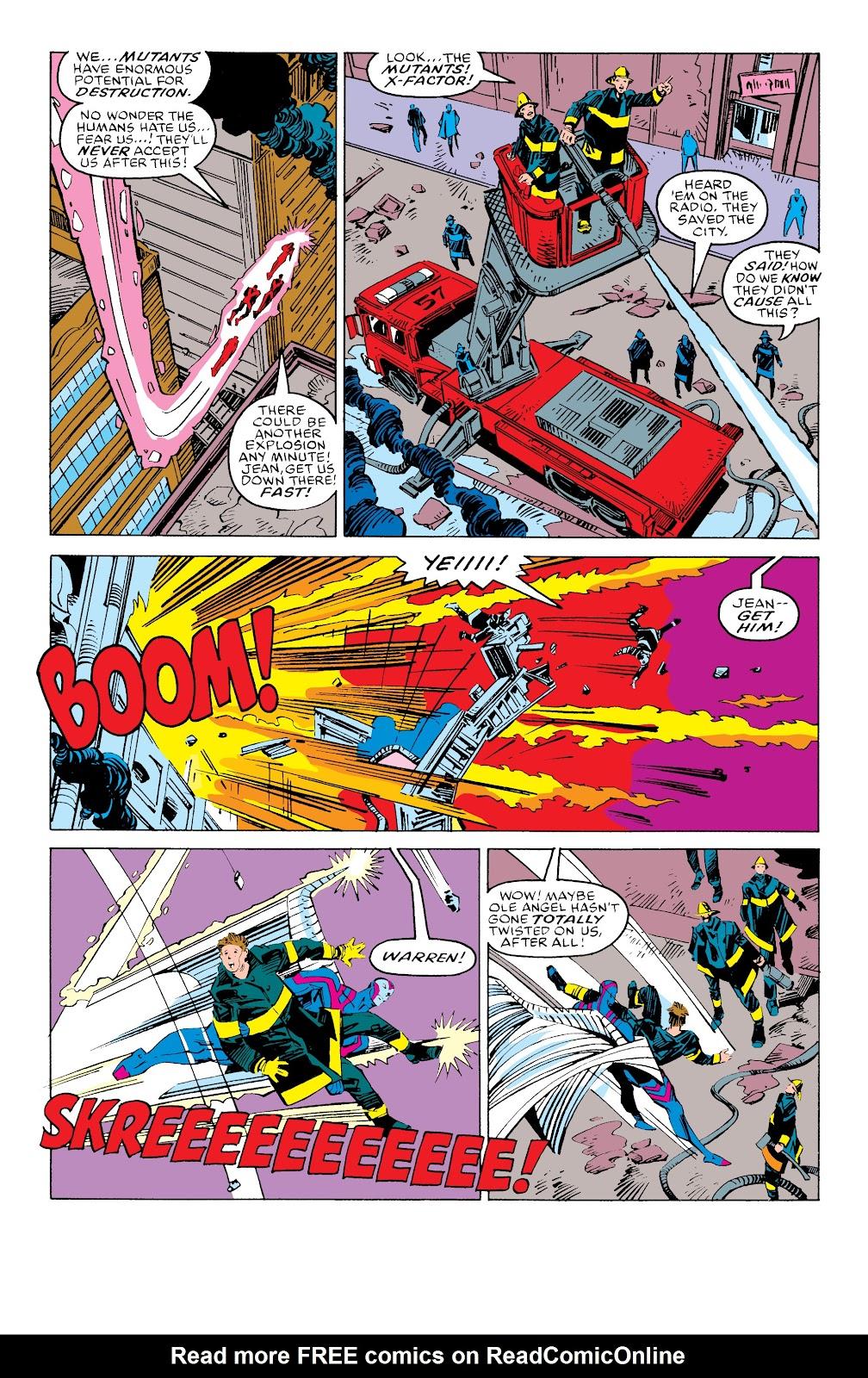 Read online X-Men Milestones: Fall of the Mutants comic -  Issue # TPB (Part 3) - 51