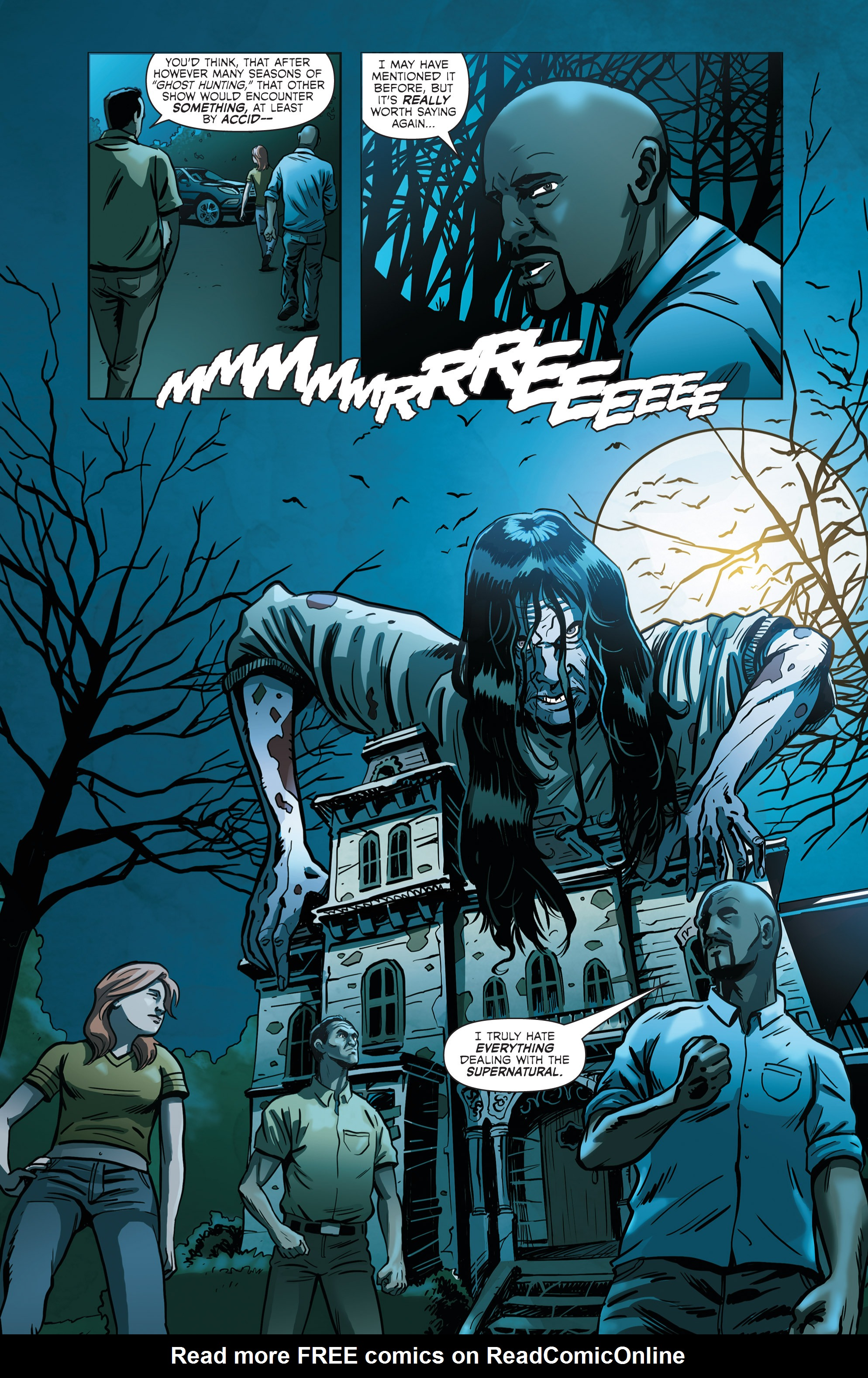 Read online Hoax Hunters (2012) comic -  Issue # TPB 2 - 97