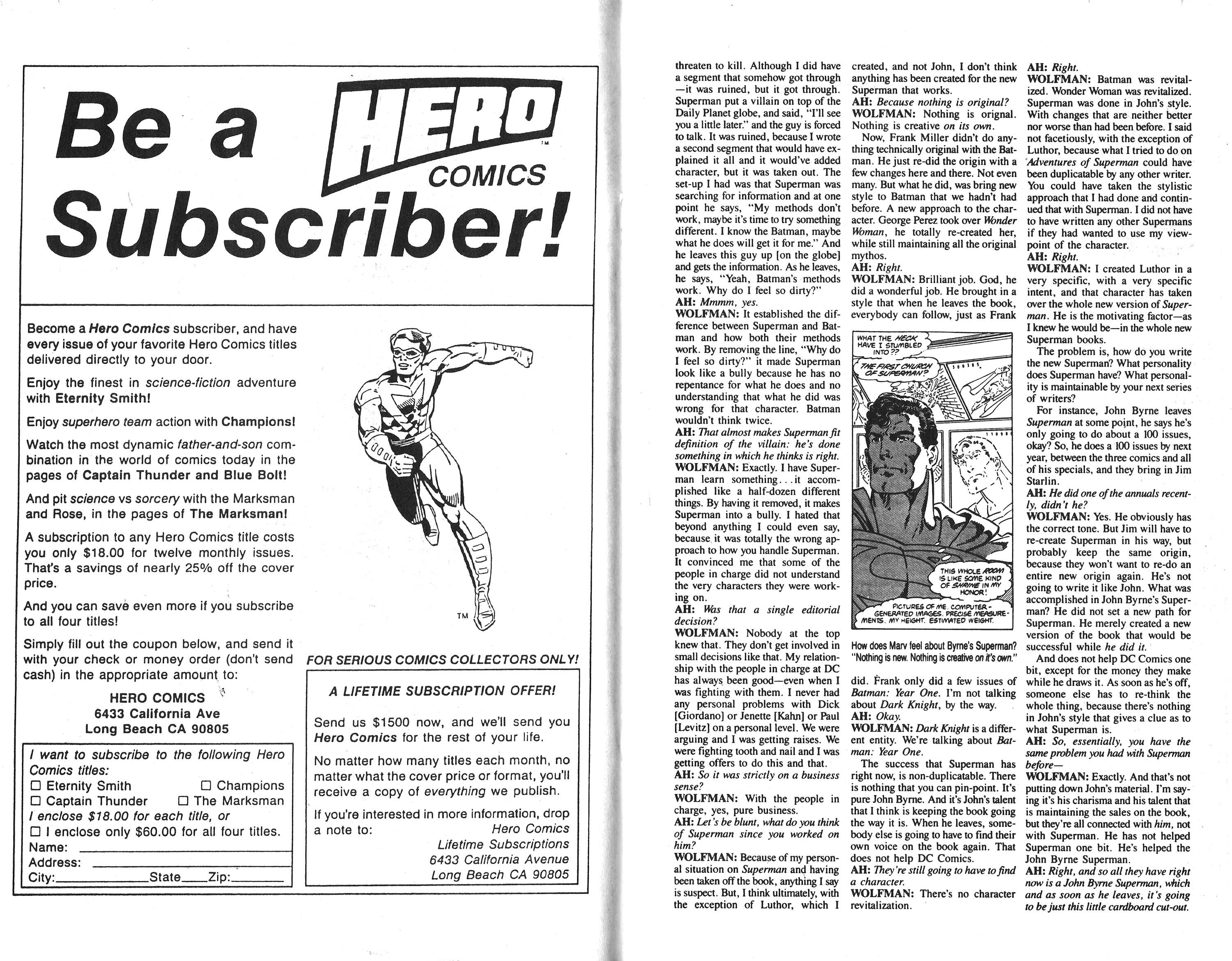 Read online Amazing Heroes comic -  Issue #135 - 20