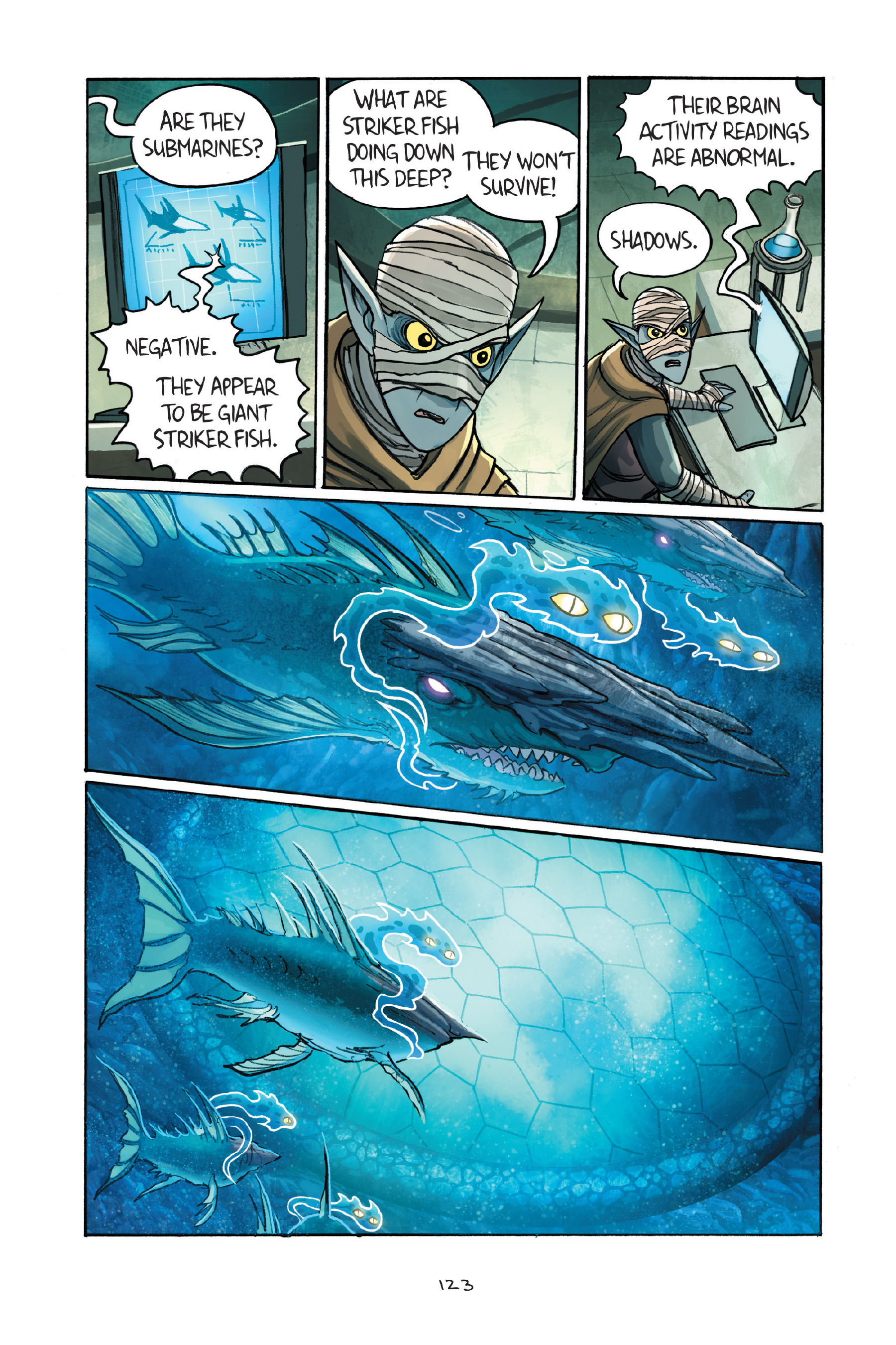 Read online Amulet comic -  Issue #7 - 123