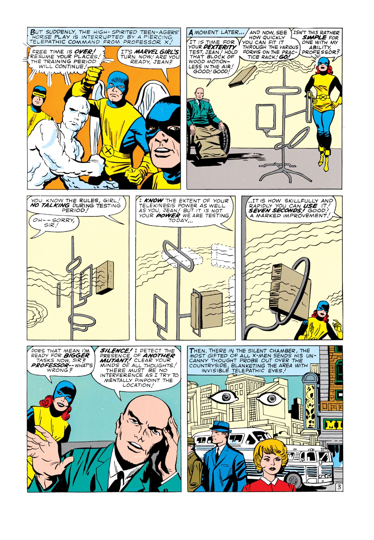 Read online Uncanny X-Men (1963) comic -  Issue #3 - 4
