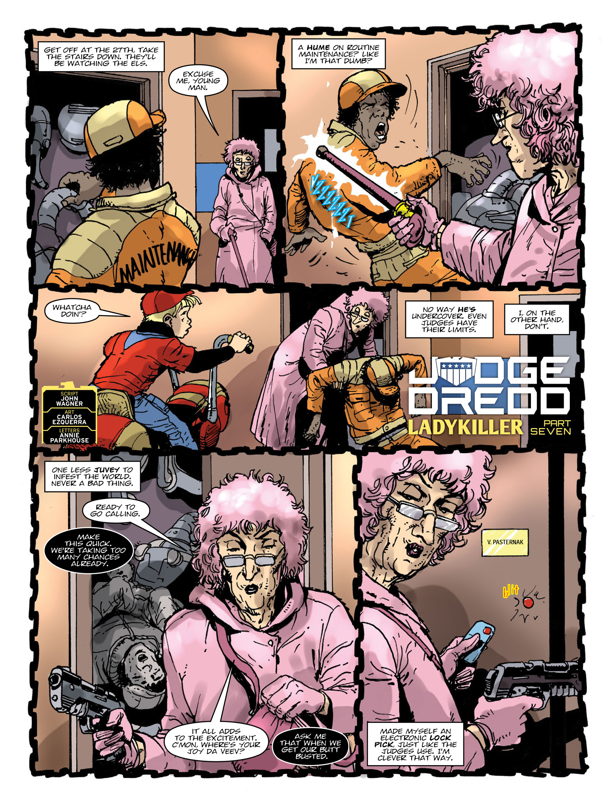 Read online 2000 AD comic -  Issue #1997 - 3