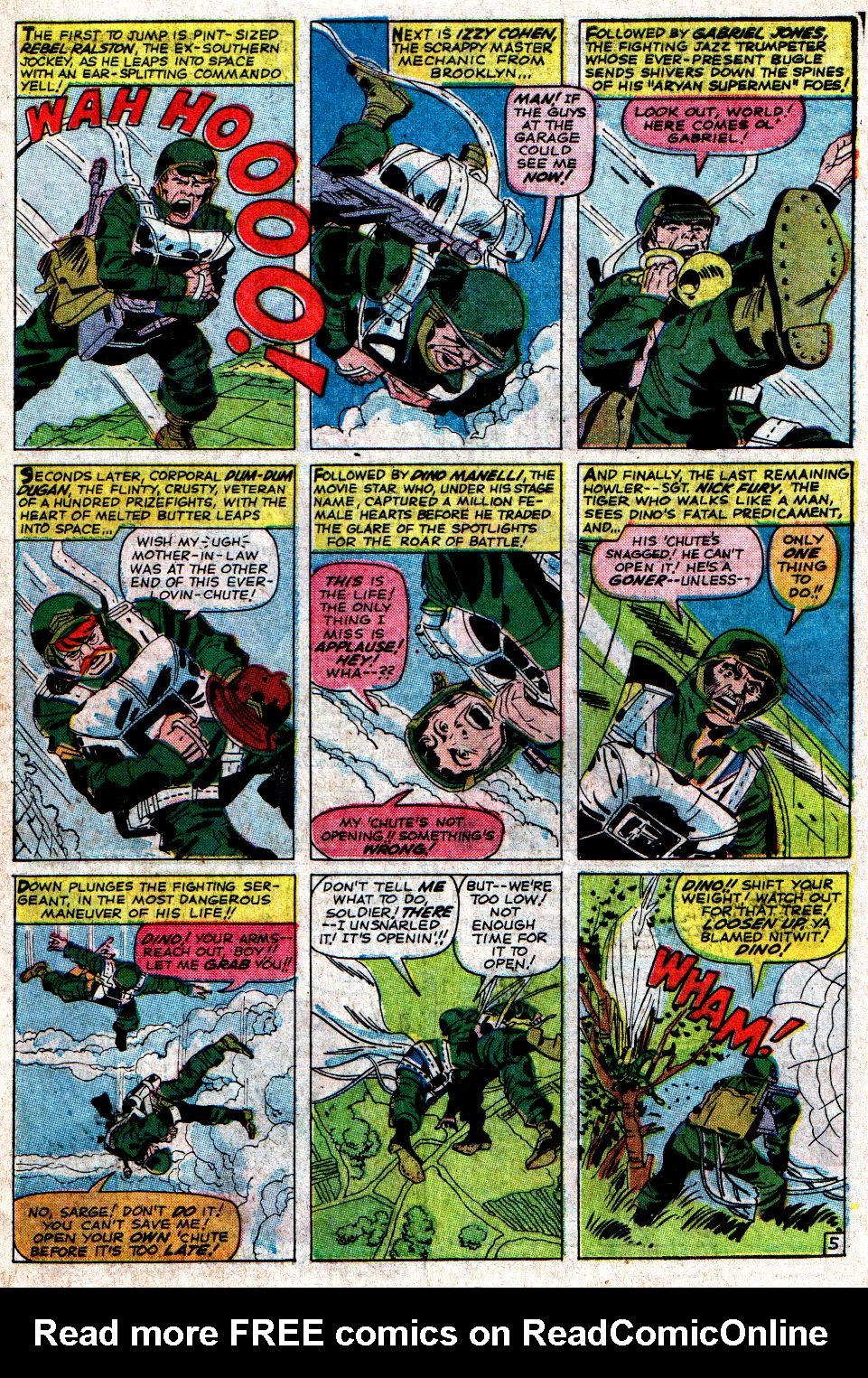 Read online Sgt. Fury comic -  Issue #6 - 7