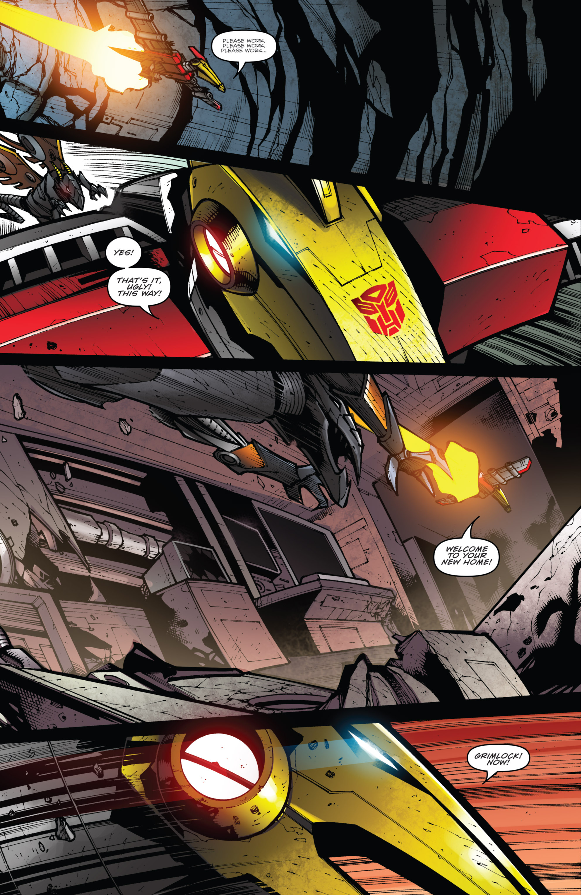 Read online Transformers Prime: Beast Hunters comic -  Issue #8 - 15