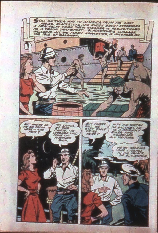 Read online Super-Magician Comics comic -  Issue #7 - 4
