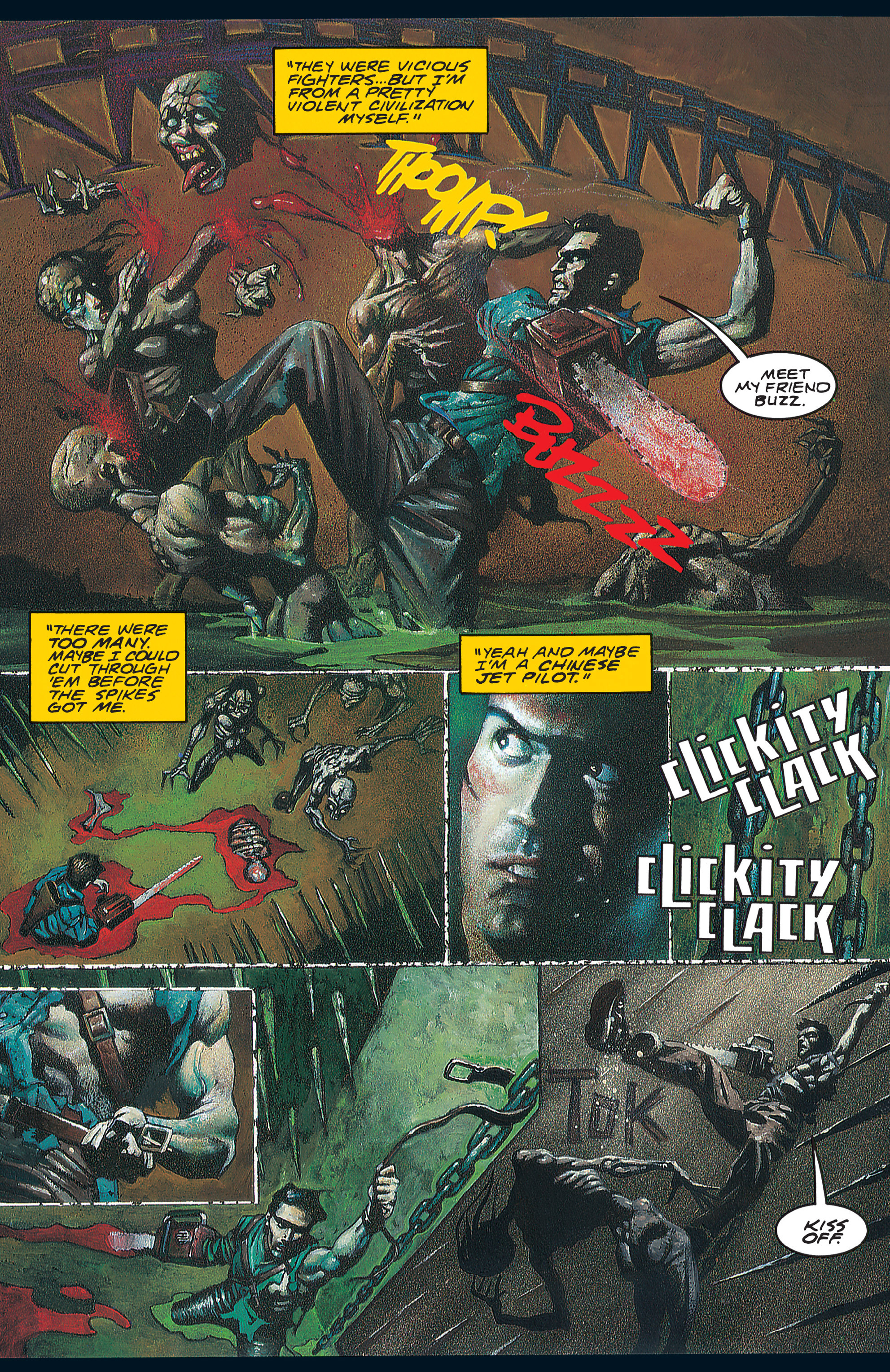 Read online Army of Darkness (1992) comic -  Issue #1 - 16